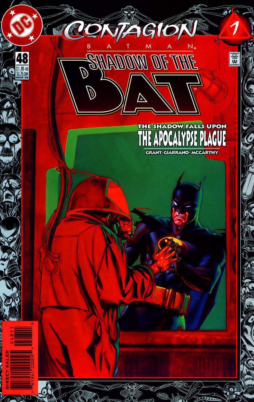 Batman: Contagion 1 Page 1