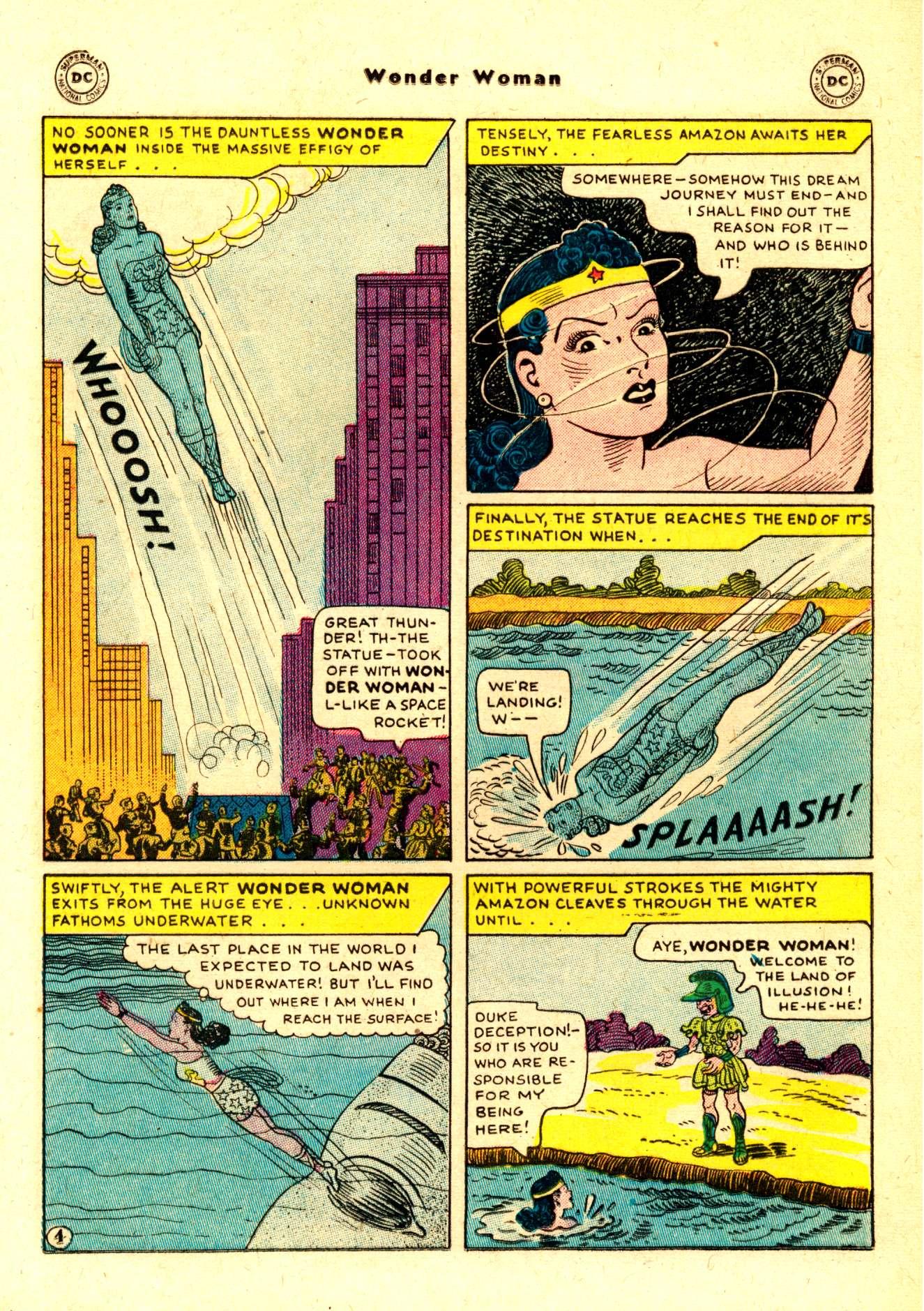 Read online Wonder Woman (1942) comic -  Issue #84 - 17