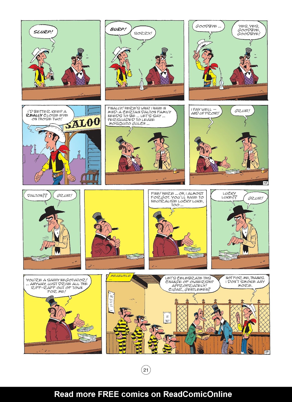 A Lucky Luke Adventure issue 72 - Page 23