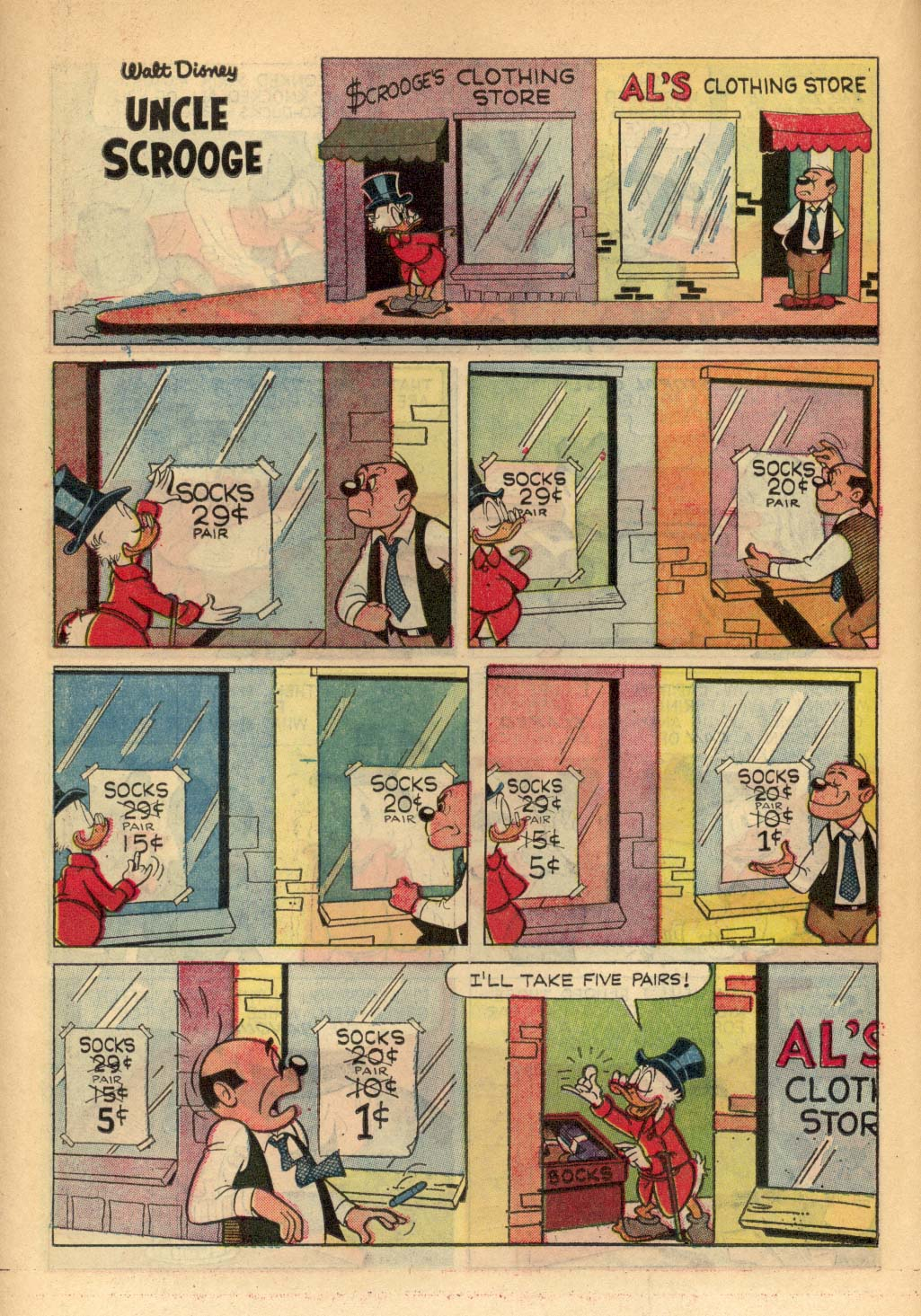 Read online Uncle Scrooge (1953) comic -  Issue #65 - 27