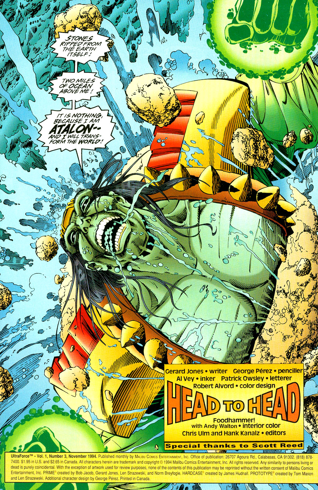 Read online UltraForce (1994) comic -  Issue #3 - 2