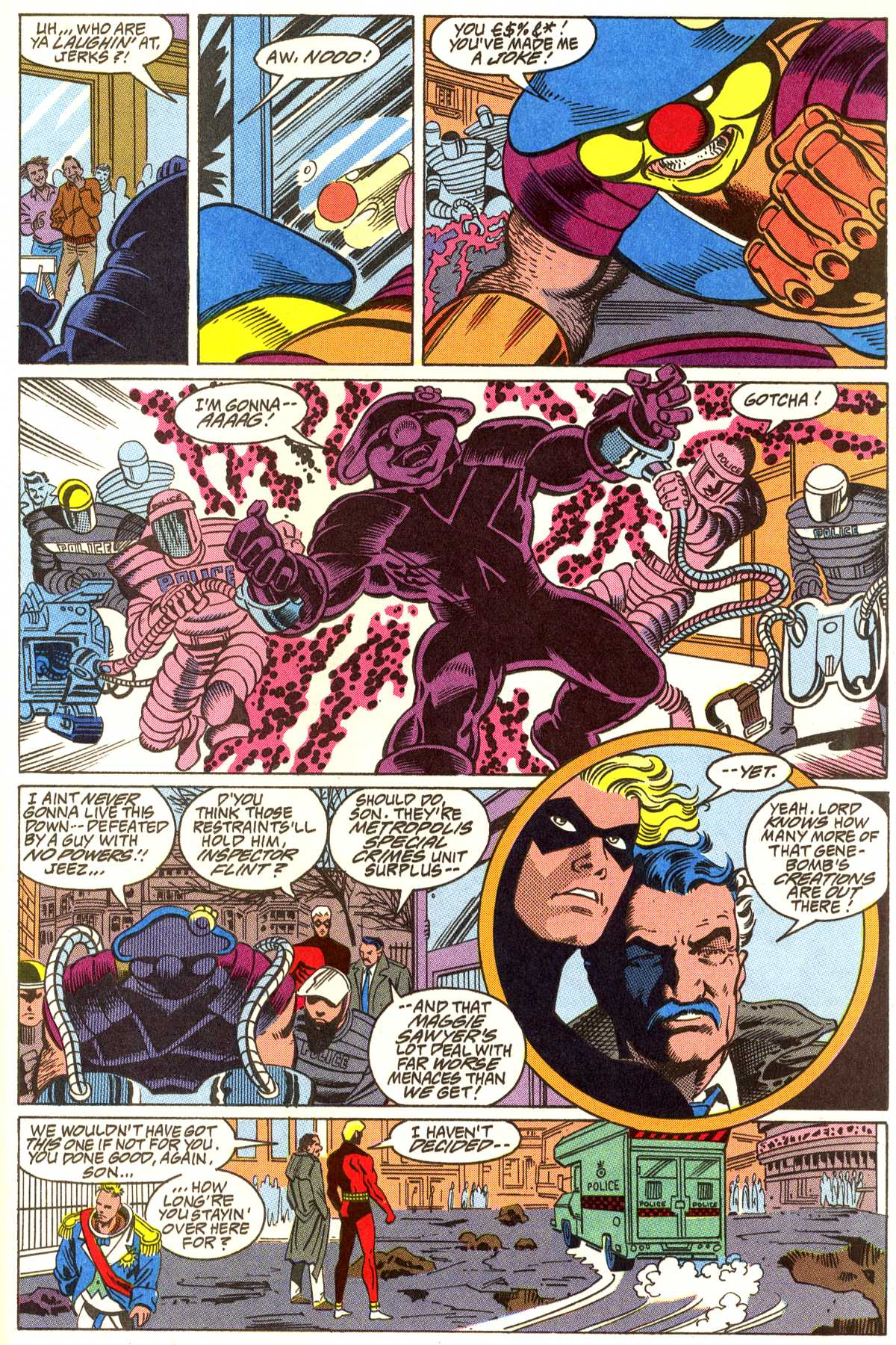Read online Peter Cannon--Thunderbolt (1992) comic -  Issue #5 - 20