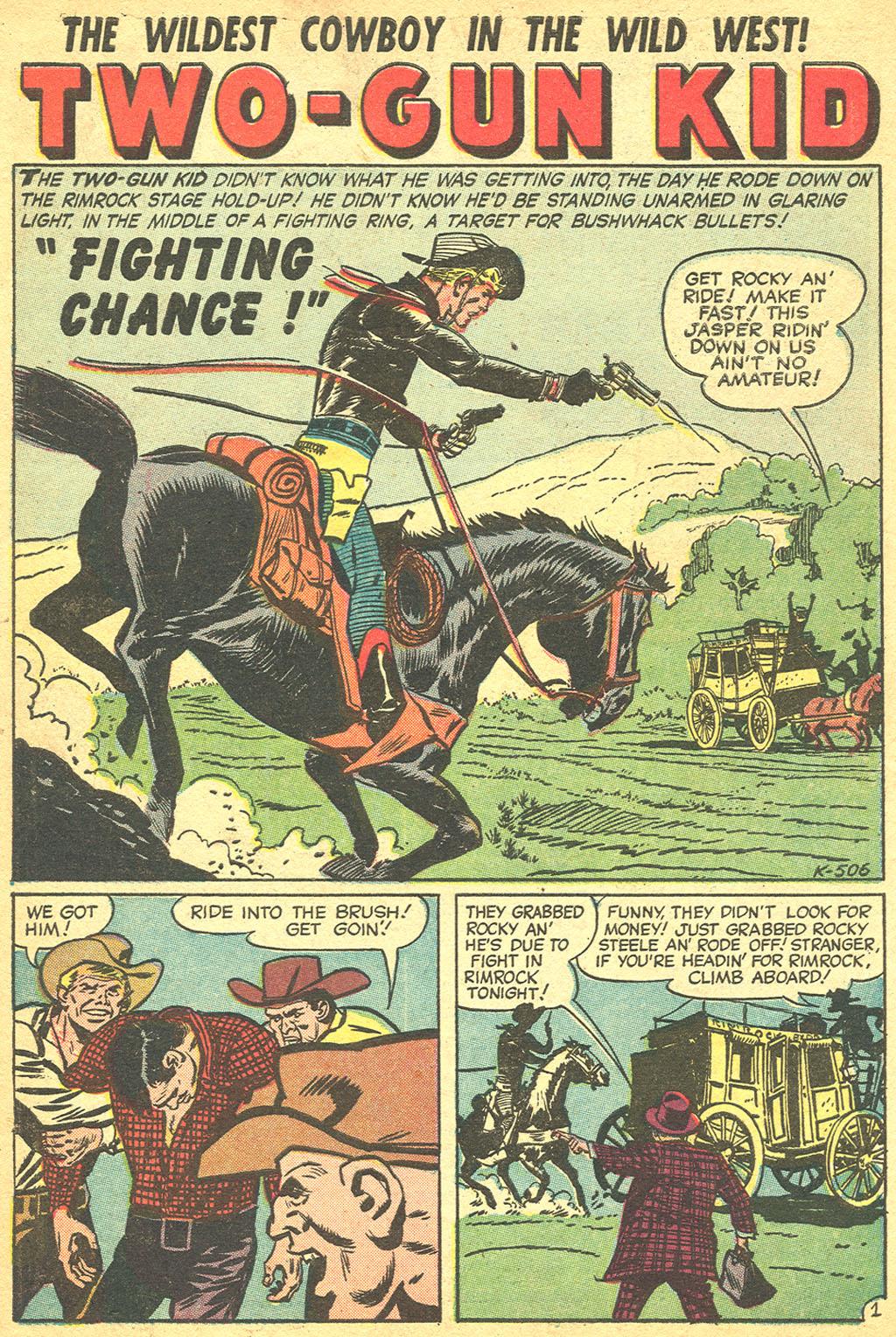 Read online Two-Gun Kid comic -  Issue #34 - 10