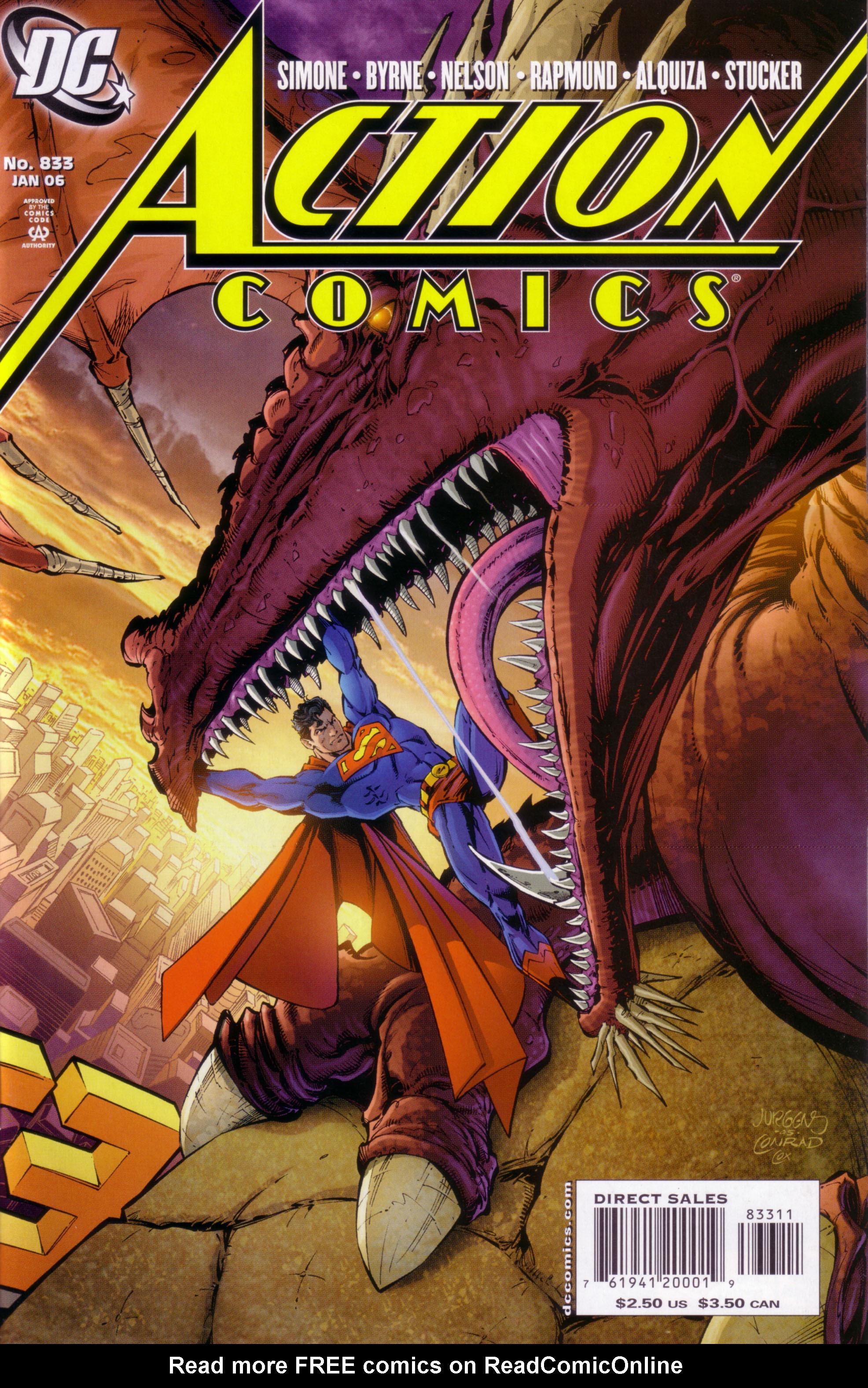 Action Comics (1938) 833 Page 0