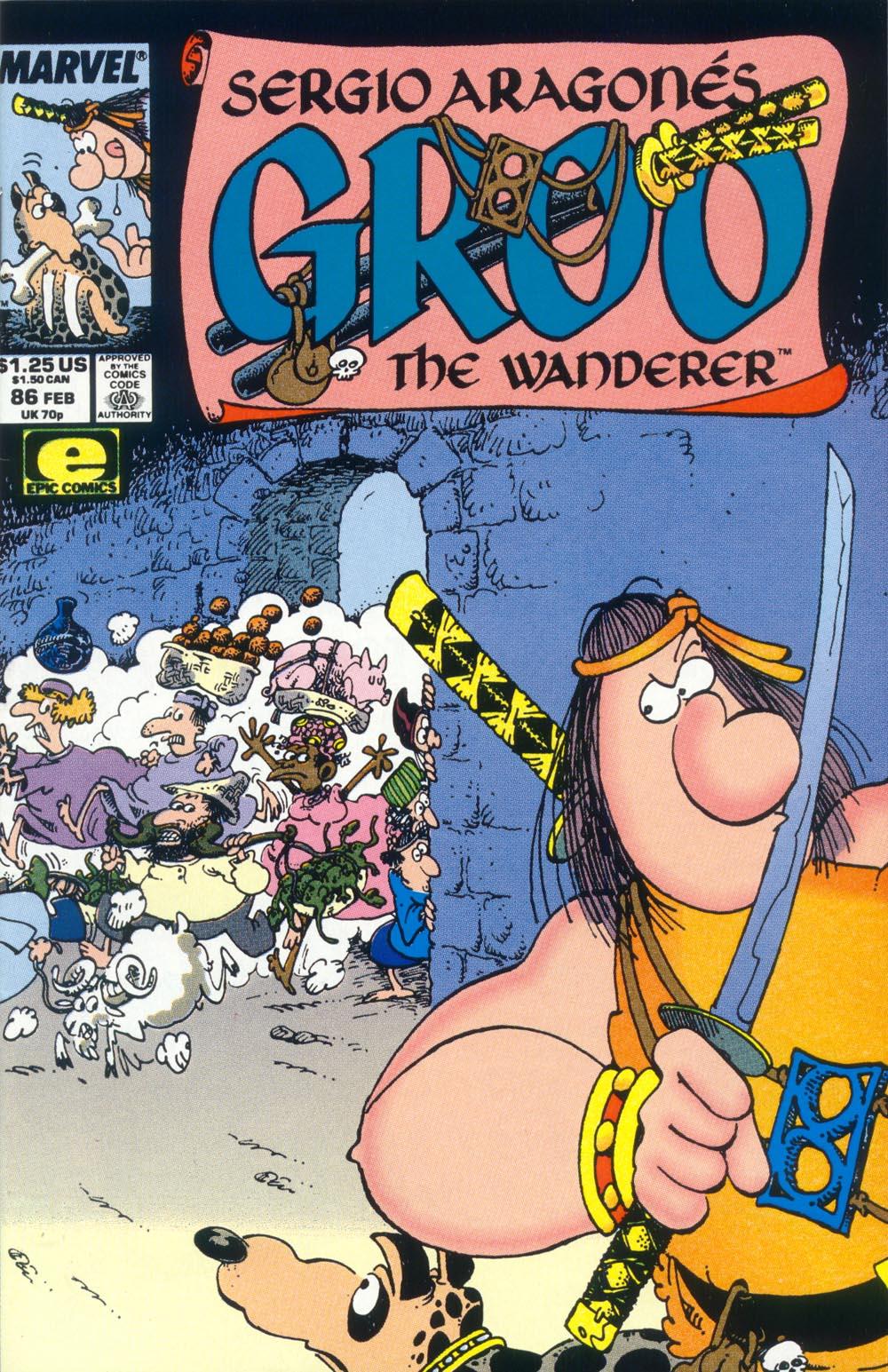 Read online Sergio Aragonés Groo the Wanderer comic -  Issue #86 - 1
