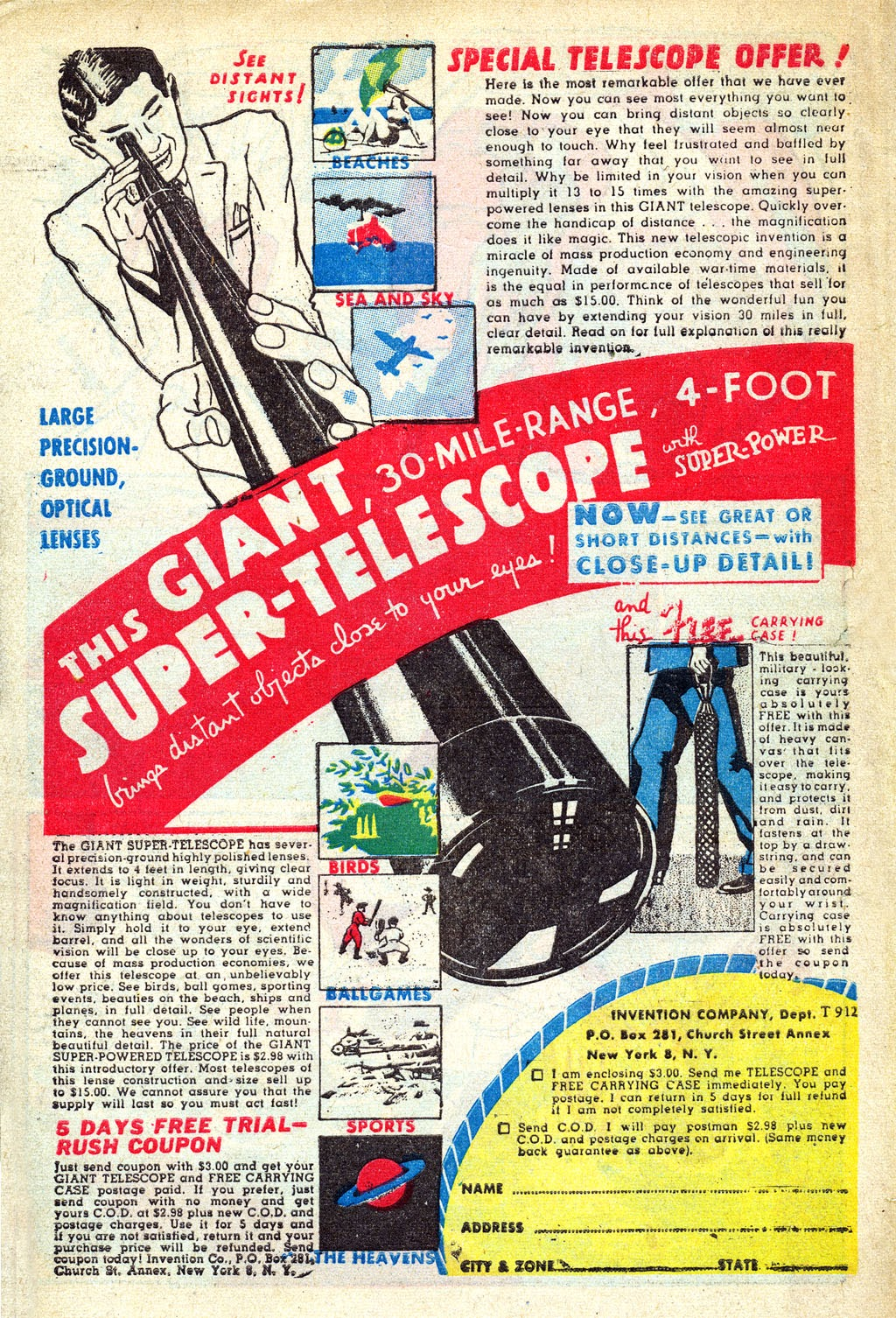 Read online Mystic Comics (1944) comic -  Issue #3 - 34