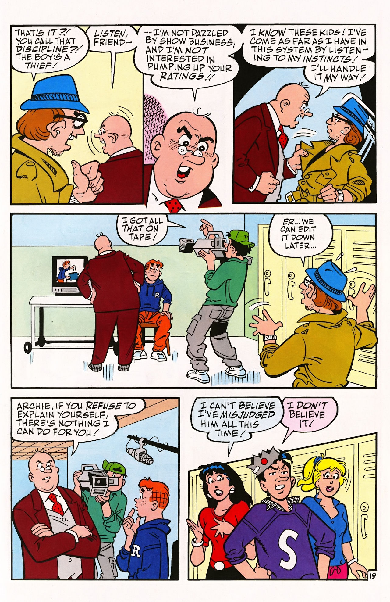 Read online Archie (1960) comic -  Issue #597 - 27