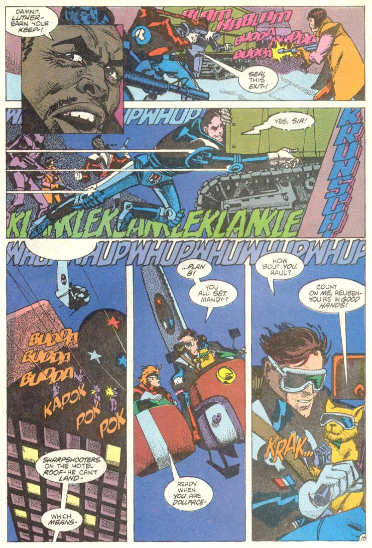 Read online American Flagg! comic -  Issue #12 - 16