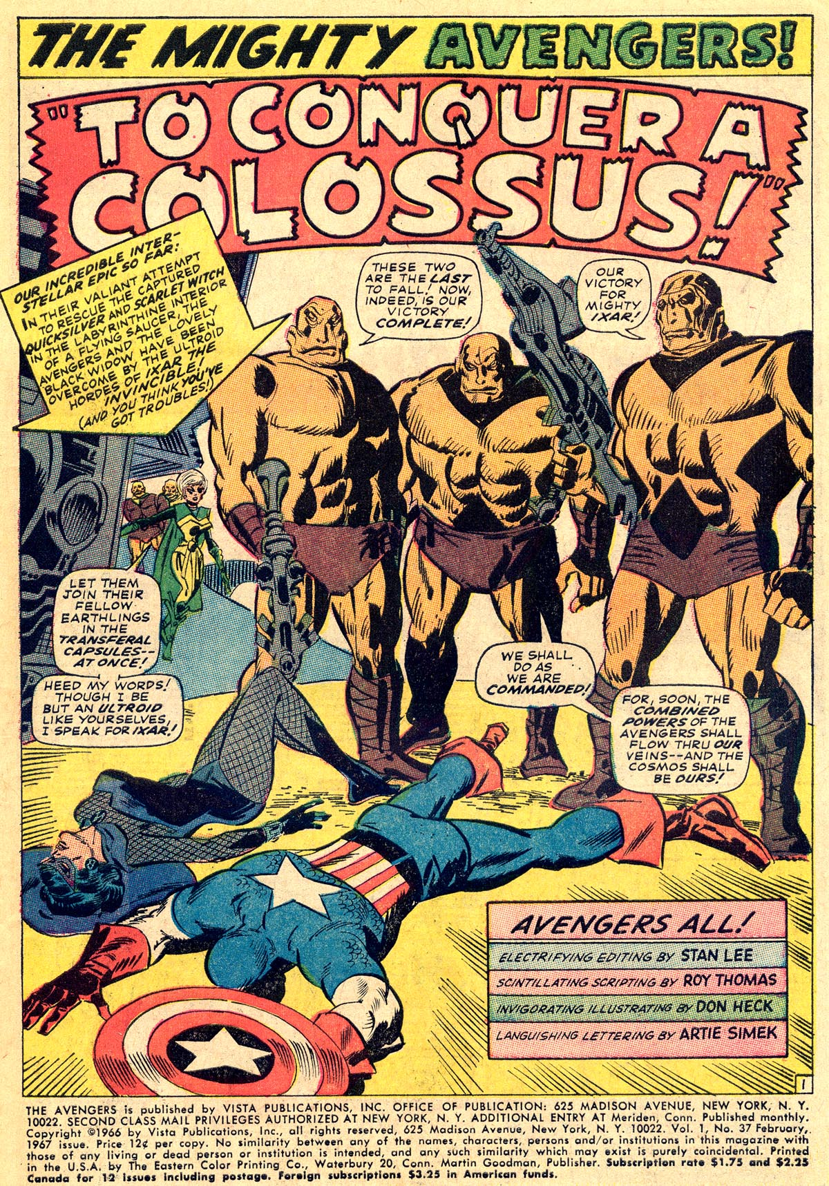 The Avengers (1963) 37 Page 2