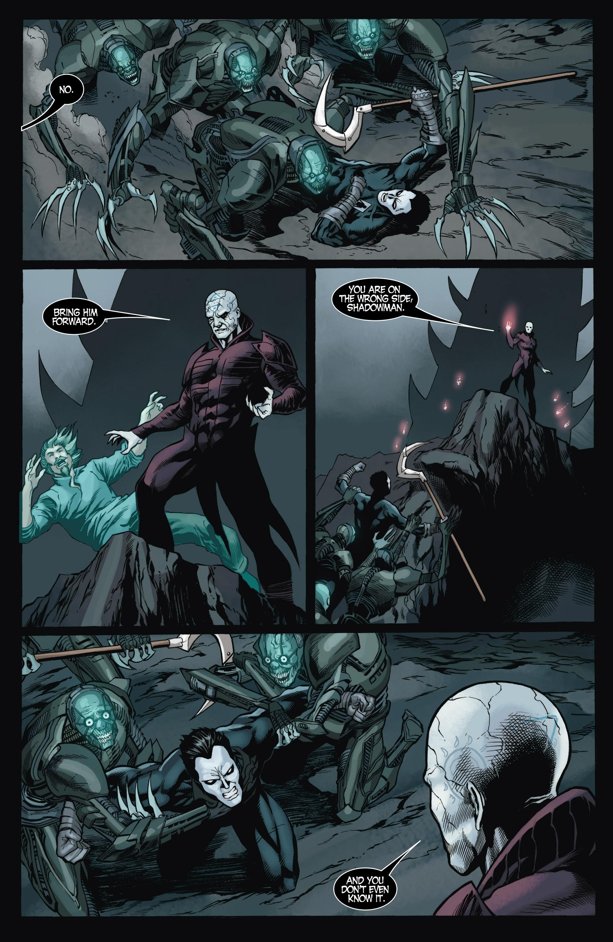 Read online Shadowman (2012) comic -  Issue #9 - 6
