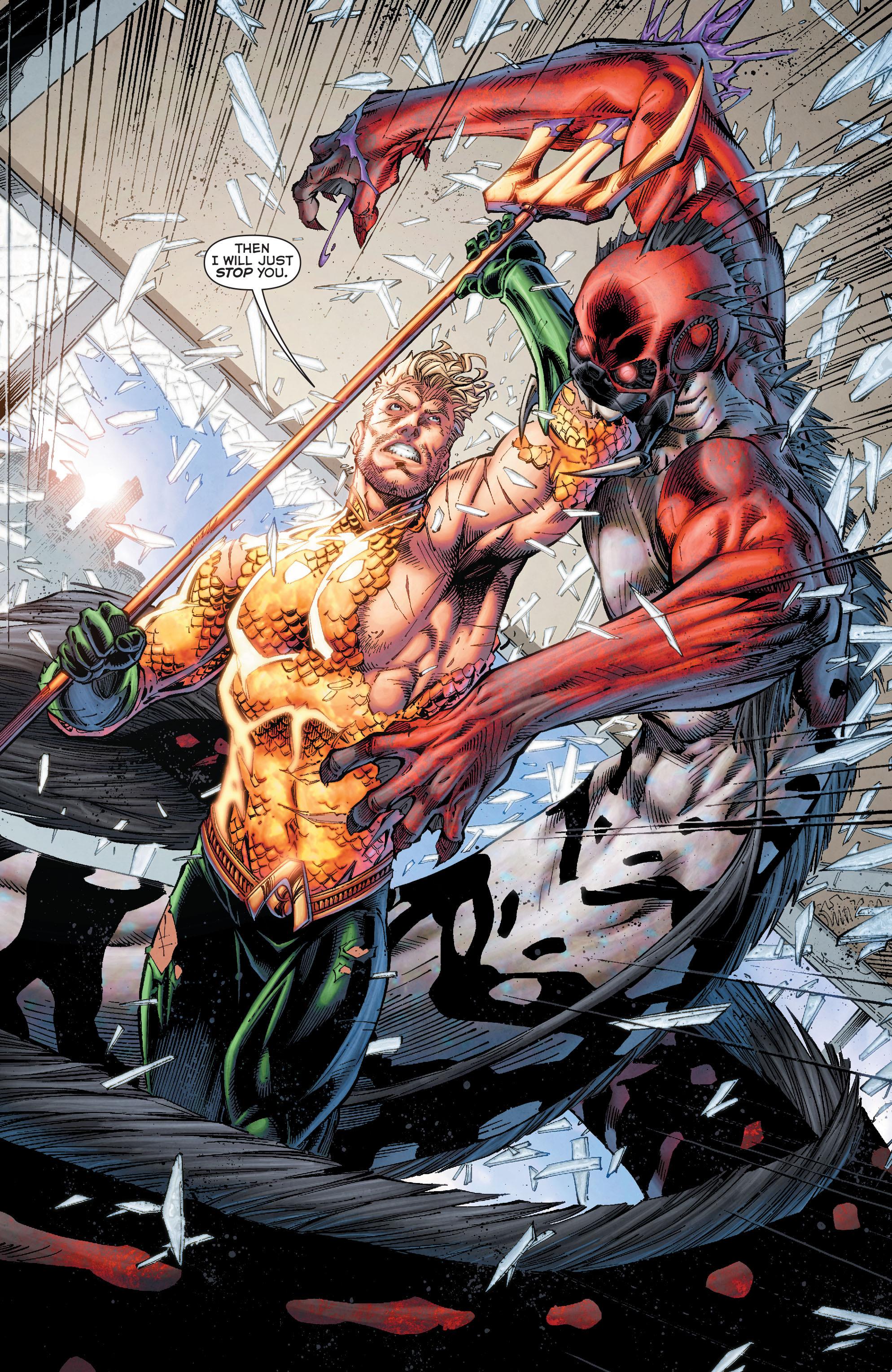 Read online Aquaman (2011) comic -  Issue #50 - 27