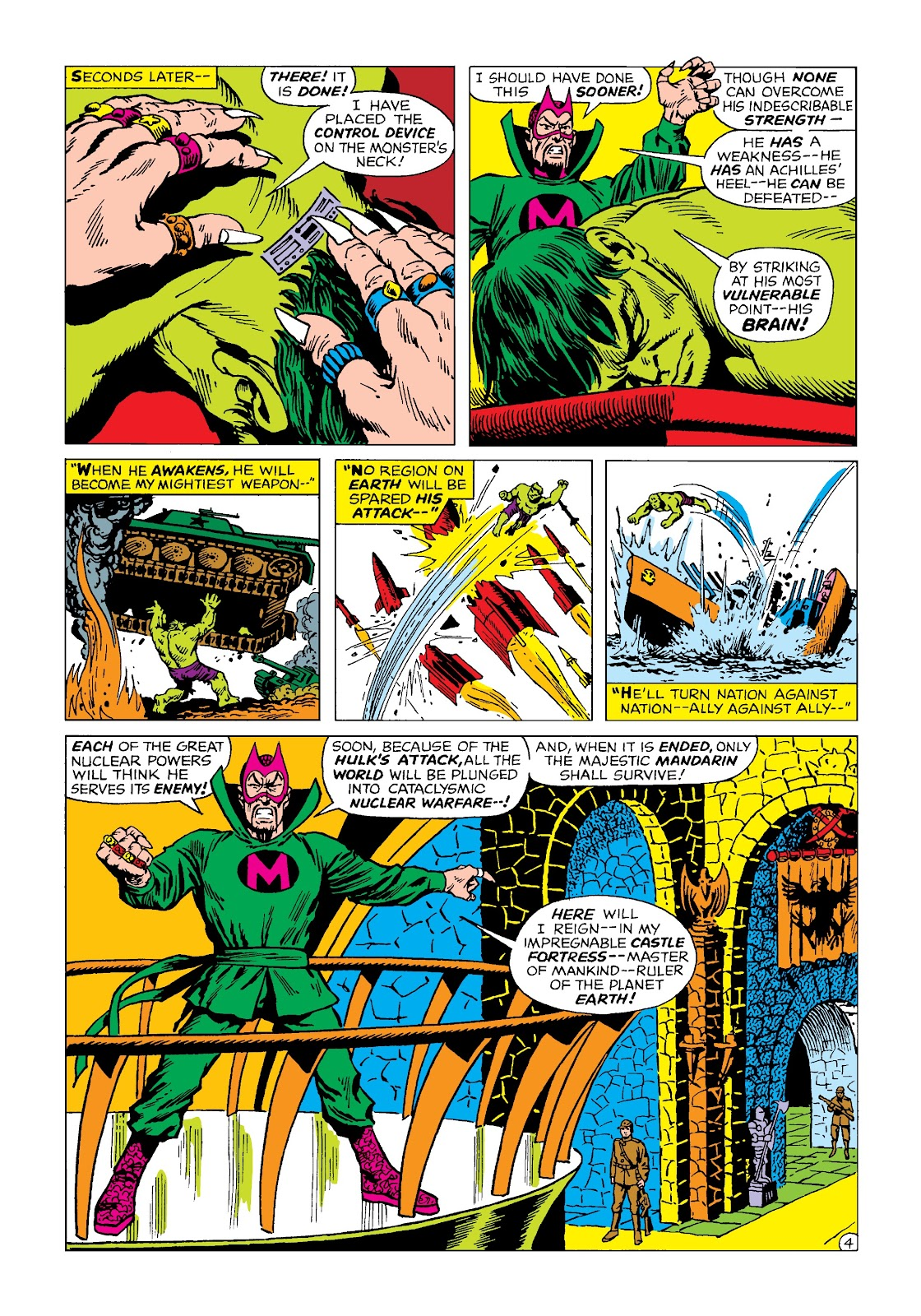 Read online Marvel Masterworks: The Incredible Hulk comic -  Issue # TPB 4 (Part 2) - 16