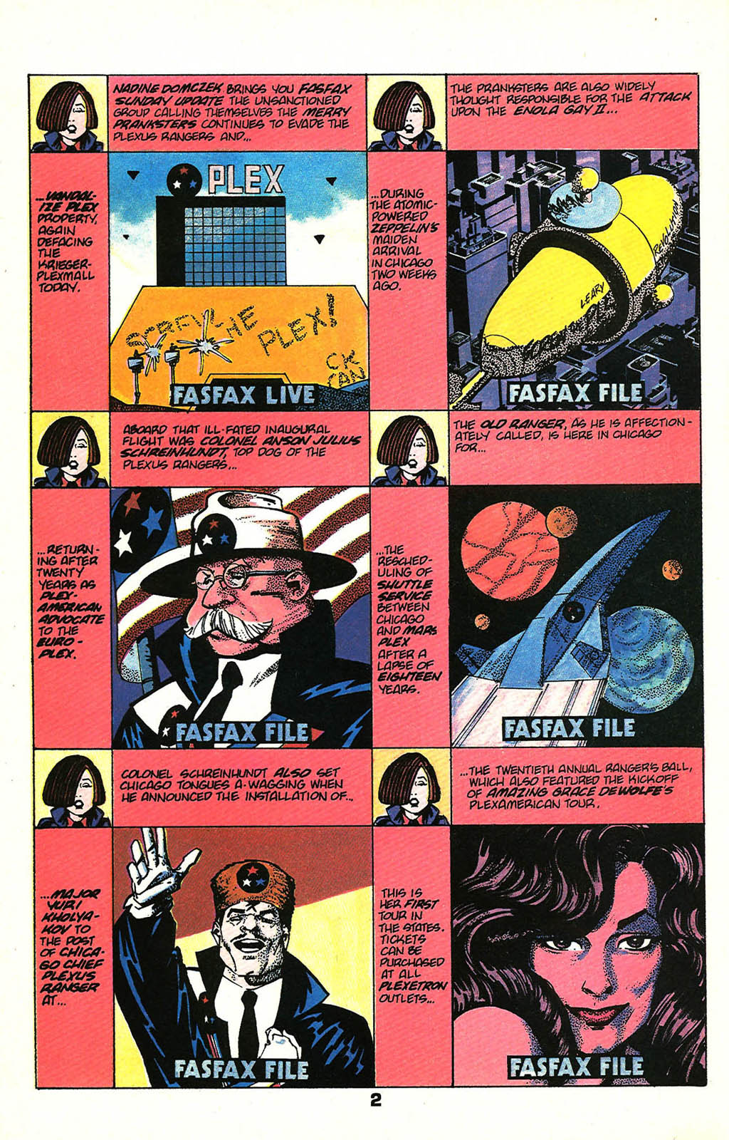 Read online American Flagg! comic -  Issue #48 - 4