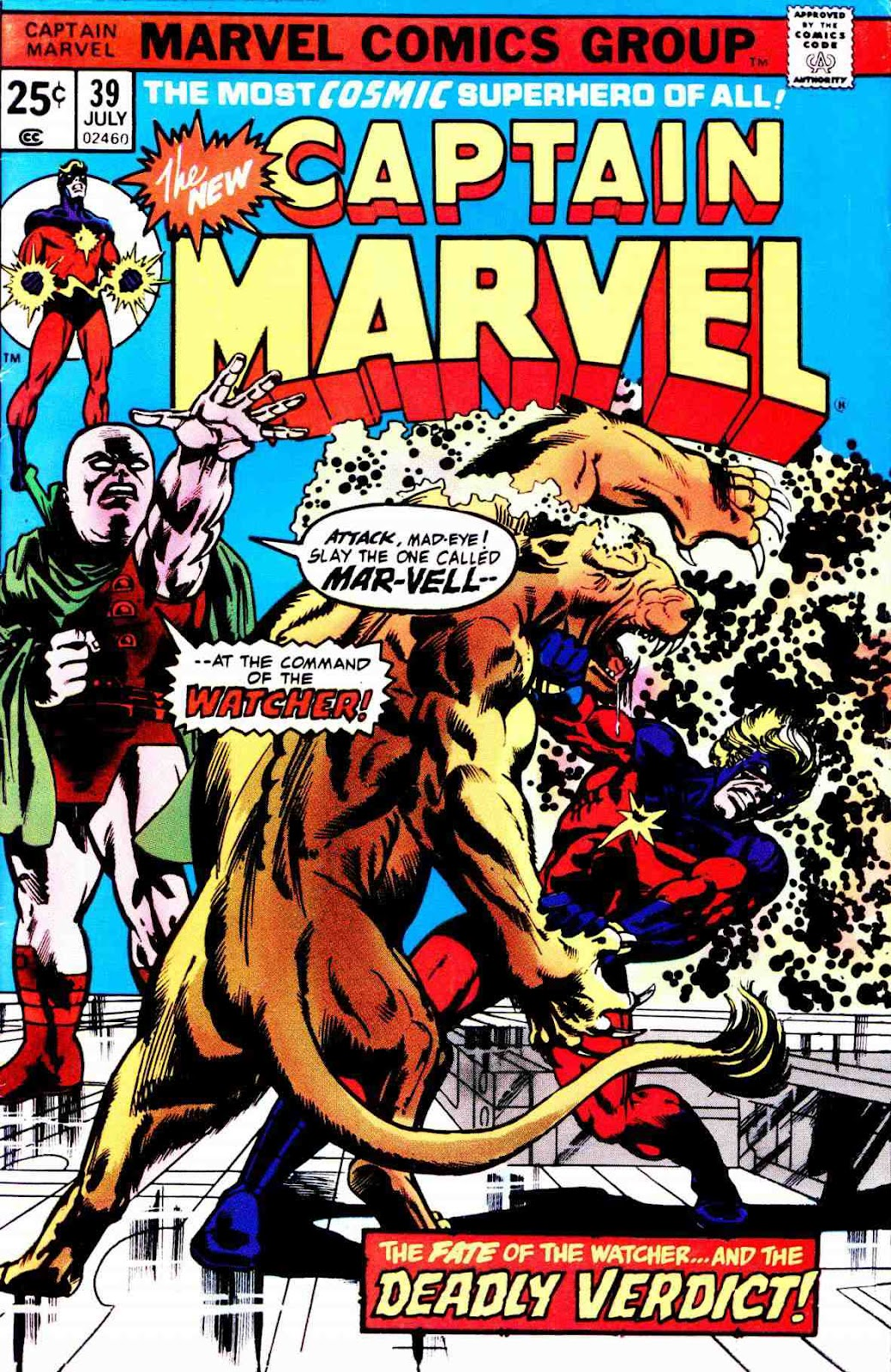 Captain Marvel (1968) issue 39 - Page 1
