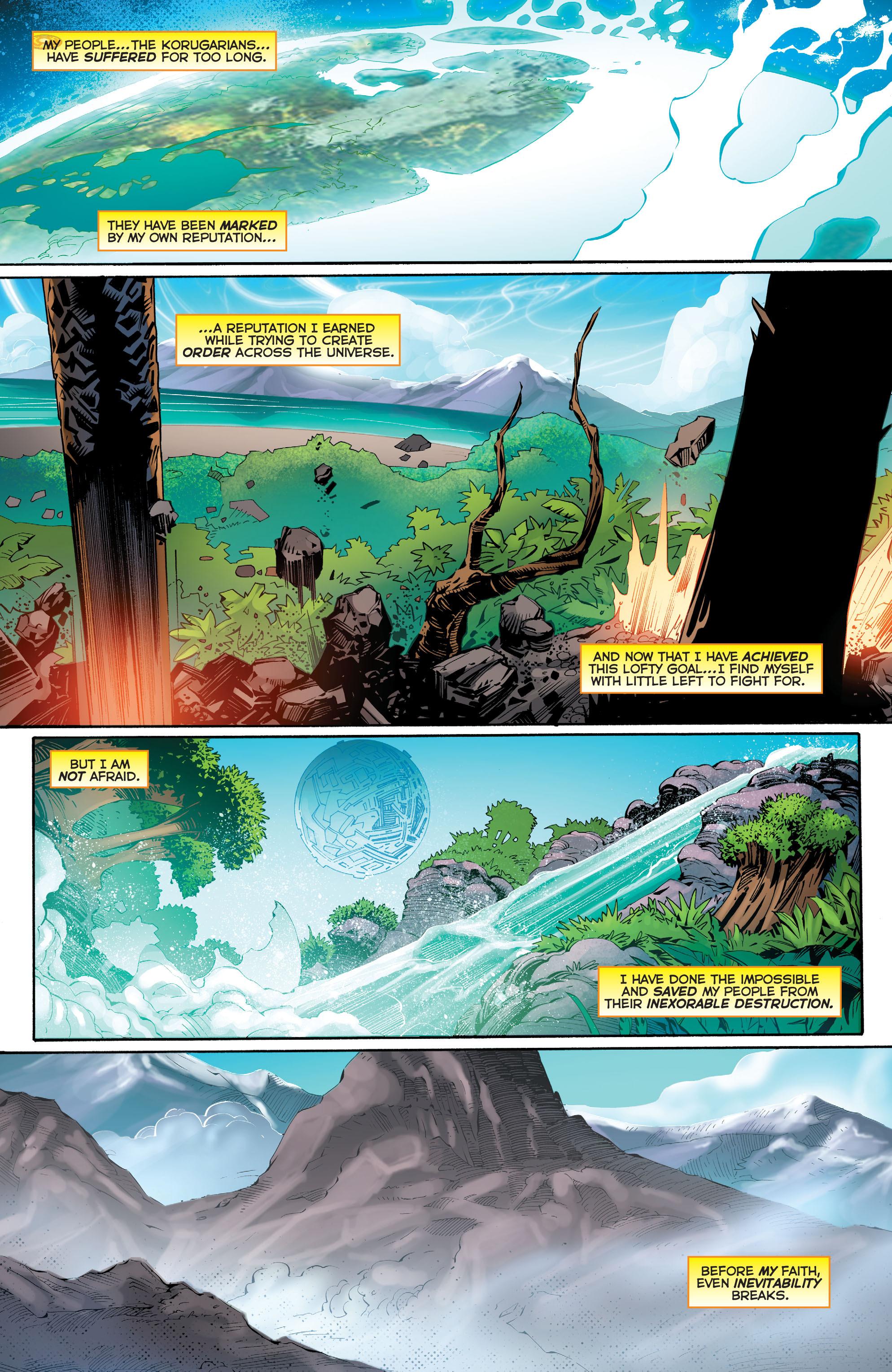 Read online Sinestro comic -  Issue #23 - 16