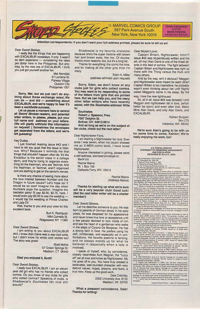 Excalibur (1988) issue 48 - Page 24