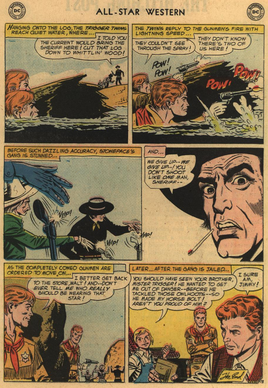 Read online All-Star Western (1951) comic -  Issue #100 - 15