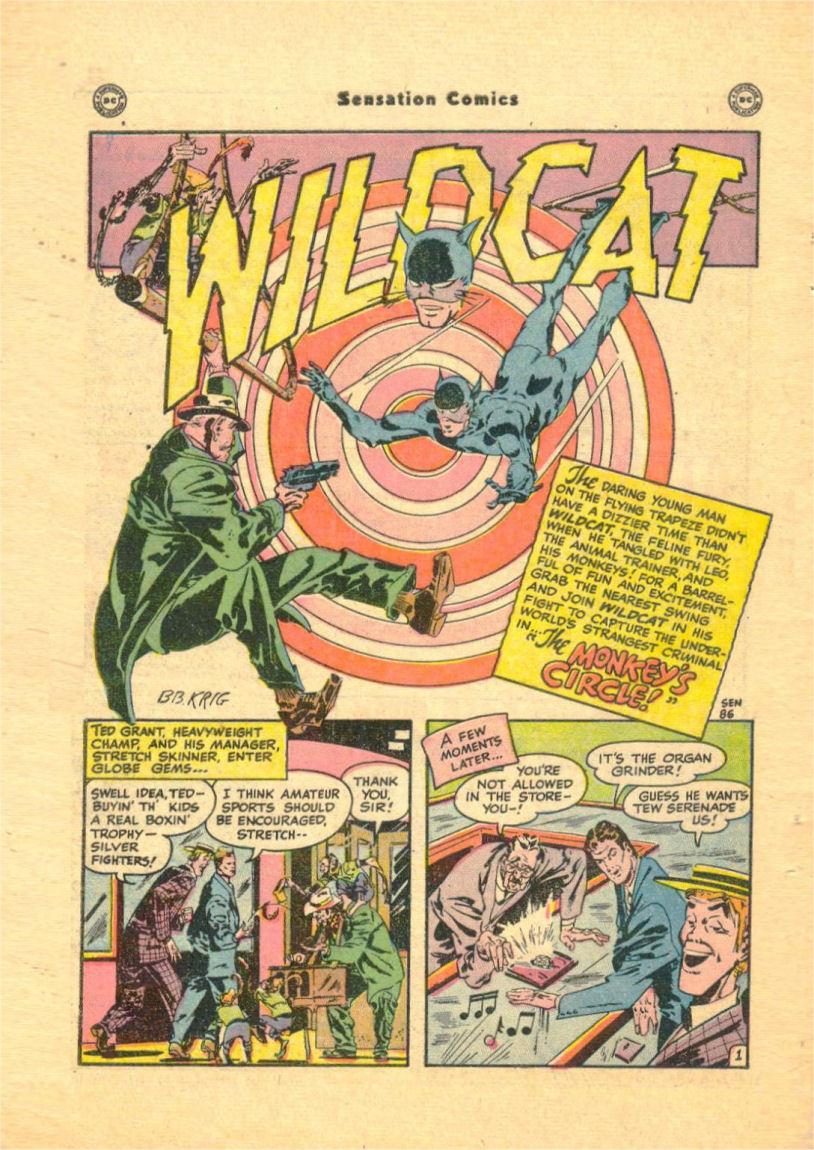 Read online Sensation (Mystery) Comics comic -  Issue #84 - 44