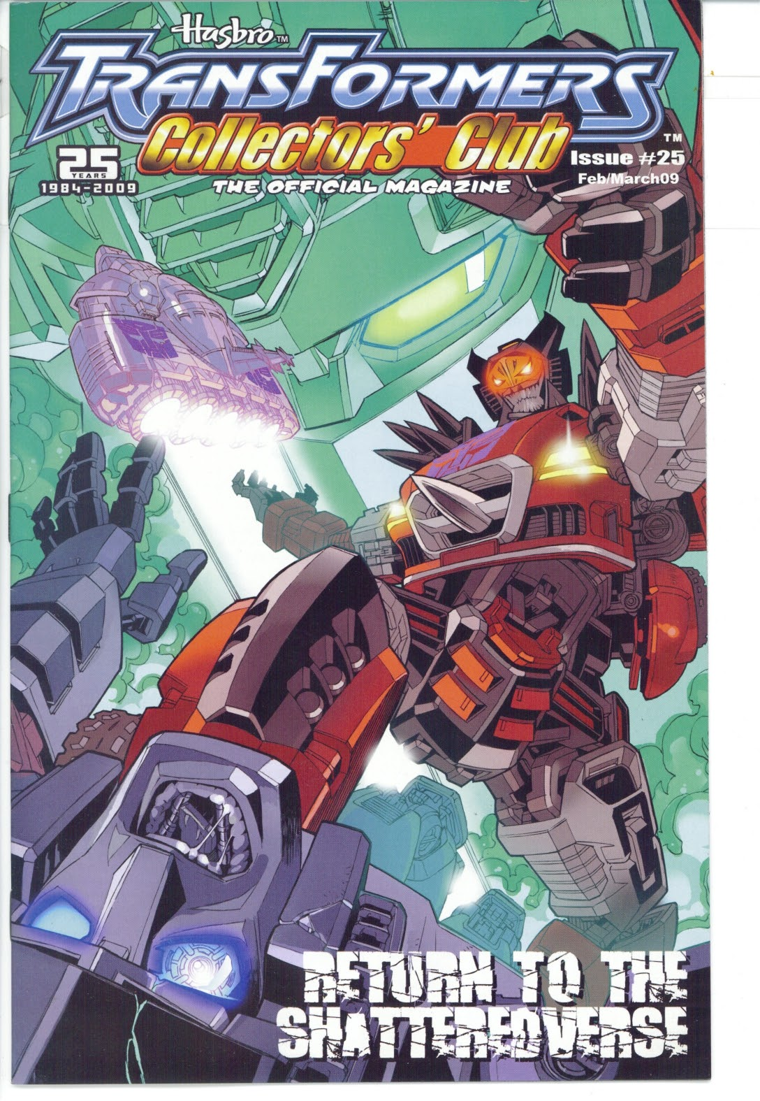 Read online Transformers: Collectors' Club comic -  Issue #25 - 1