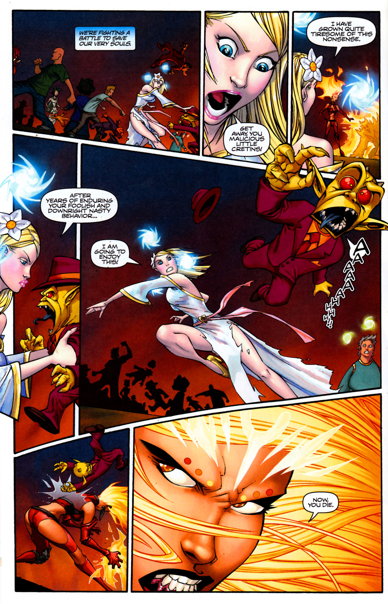 Read online Shrugged (2006) comic -  Issue #8 - 22