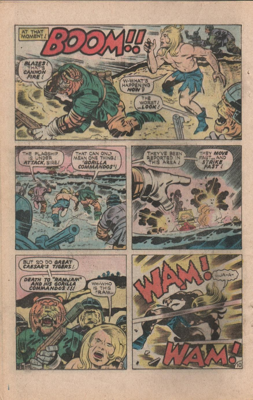 Kamandi, The Last Boy On Earth issue 32 - Page 12