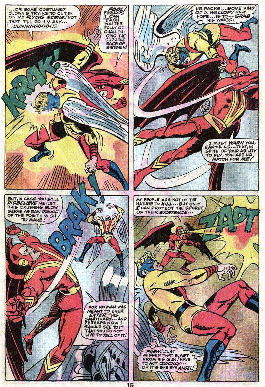 Read online Uncanny X-Men (1963) comic -  Issue #92 - 16