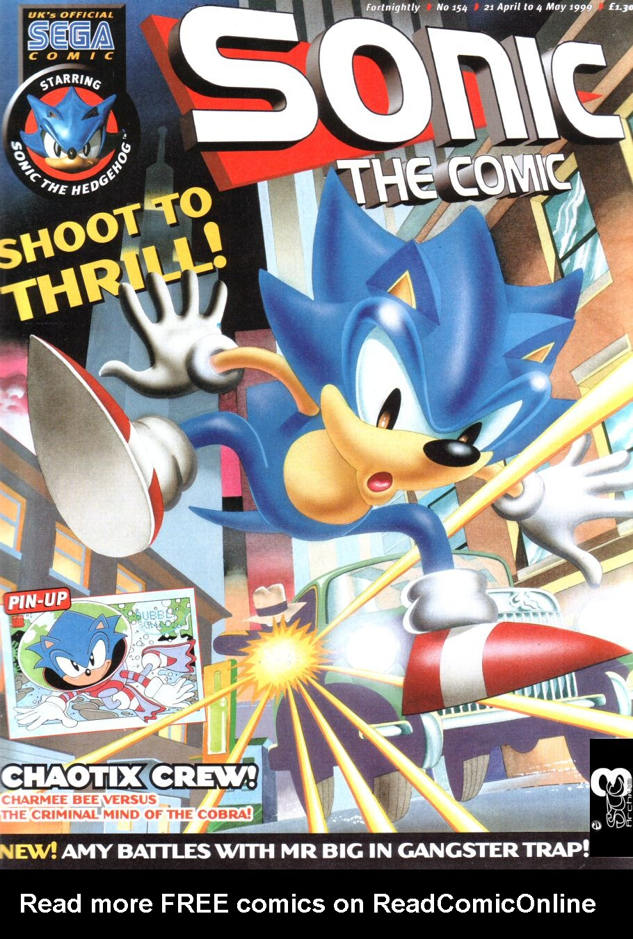 Read online Sonic the Comic comic -  Issue #154 - 1