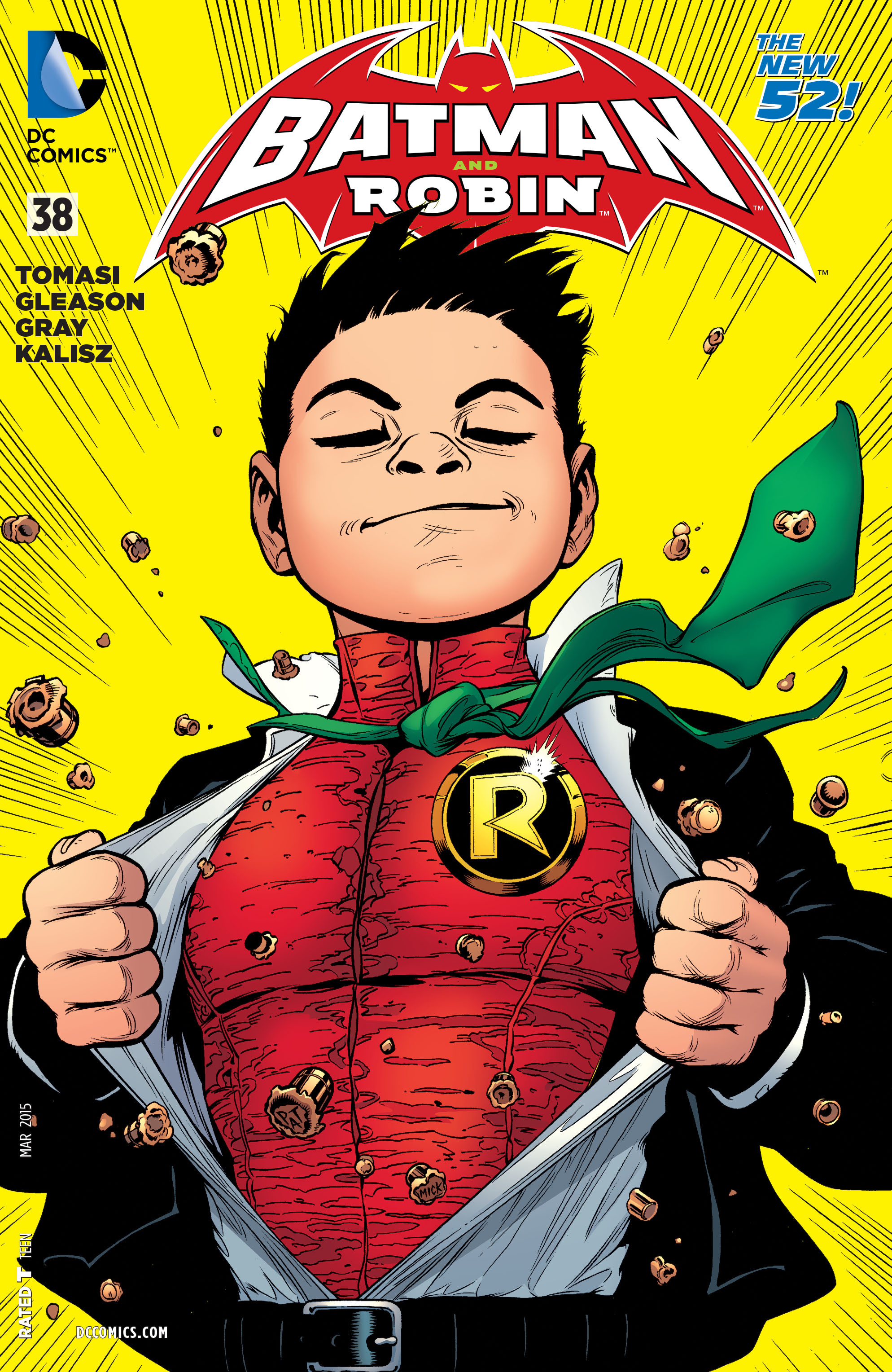 Read online Batman and Robin (2011) comic -  Issue #38 - 1