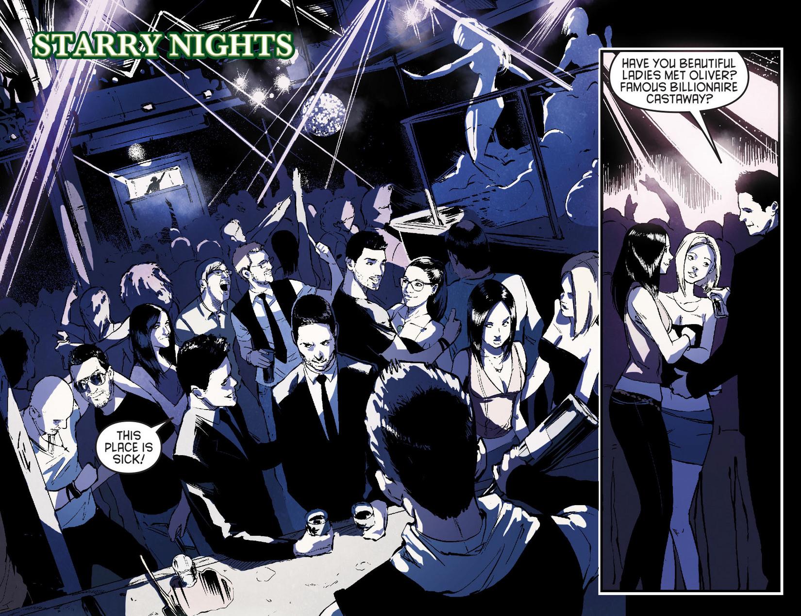 Read online Arrow [II] comic -  Issue #7 - 11