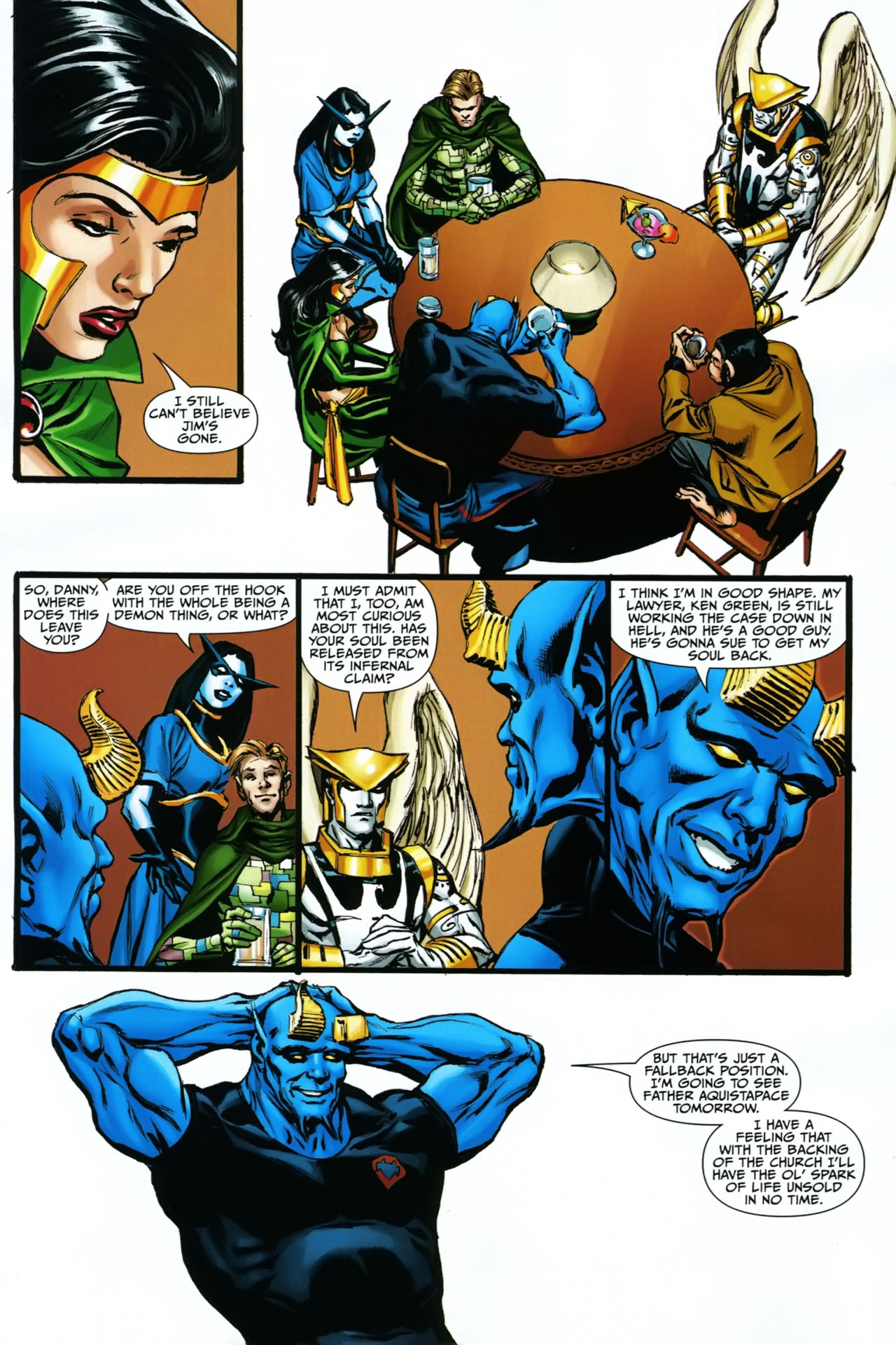 Read online Shadowpact comic -  Issue #23 - 11