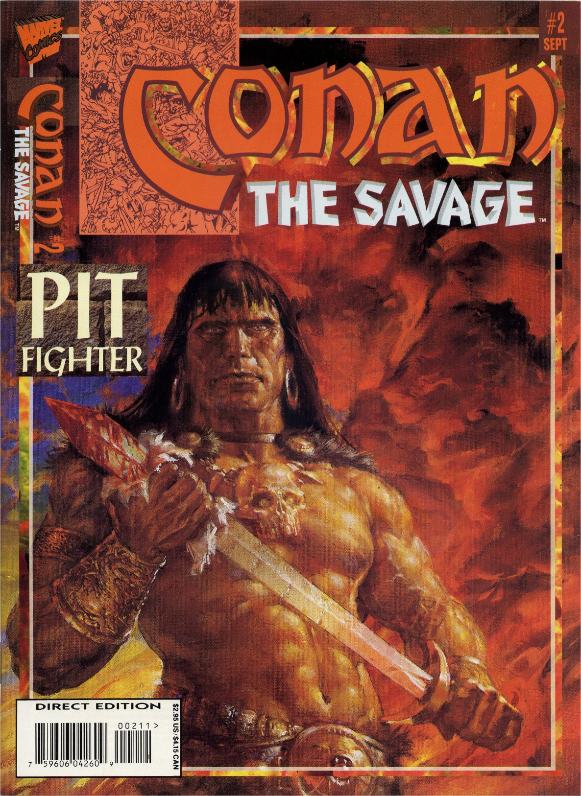 Conan the Savage 2 Page 1