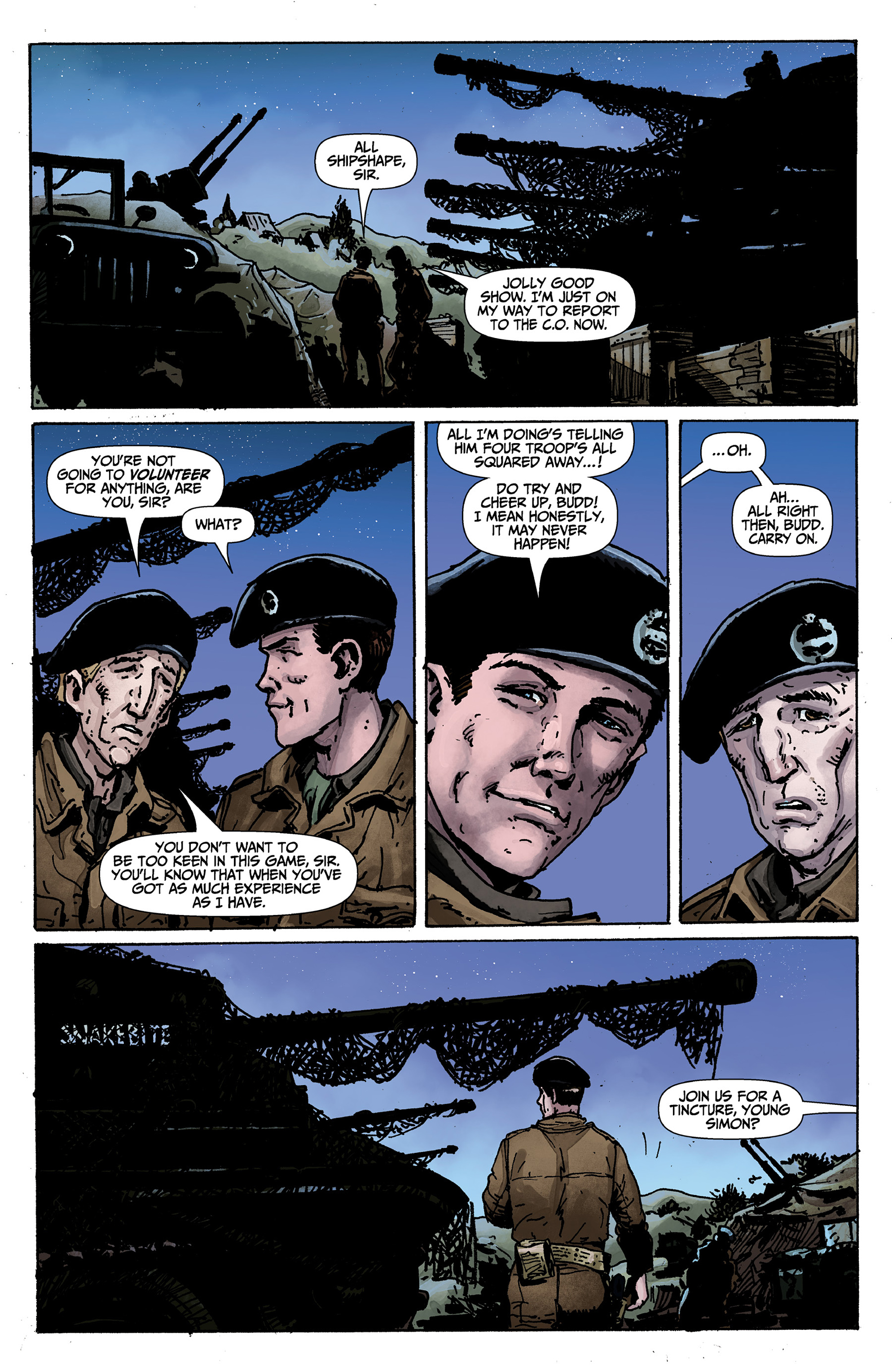 Read online World of Tanks comic -  Issue #1 - 11