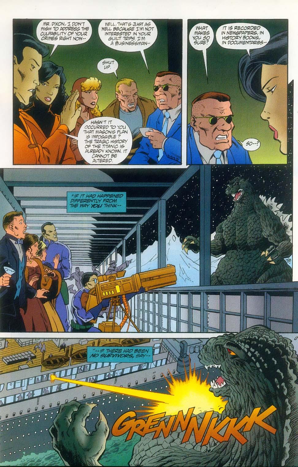 Godzilla (1995) Issue #11 #12 - English 12