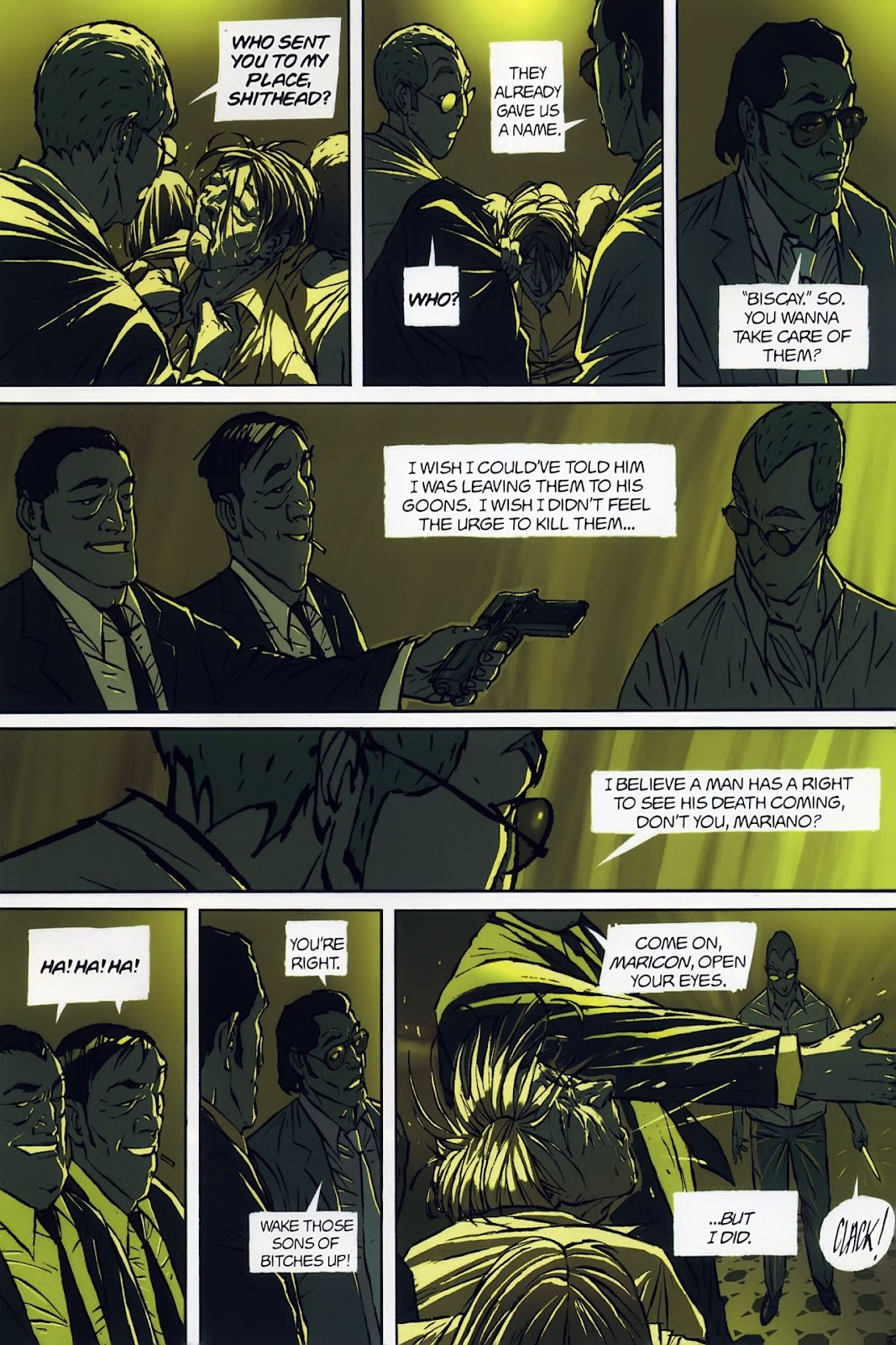 Read online The Killer comic -  Issue #8 - 7
