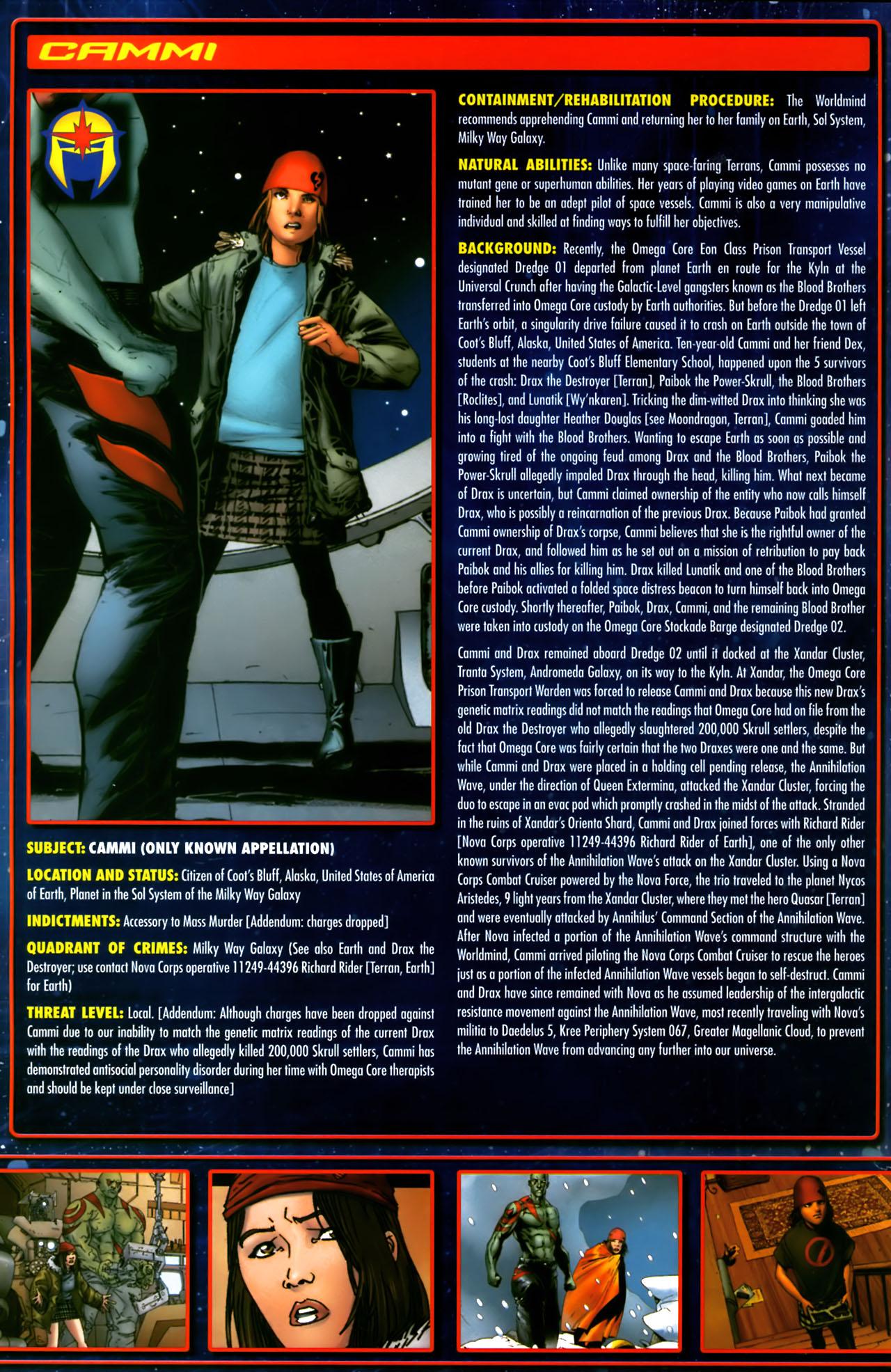 Read online Annihilation:  The  Nova Corps Files comic -  Issue #Annihilation:  The  Nova Corps Files Full - 8