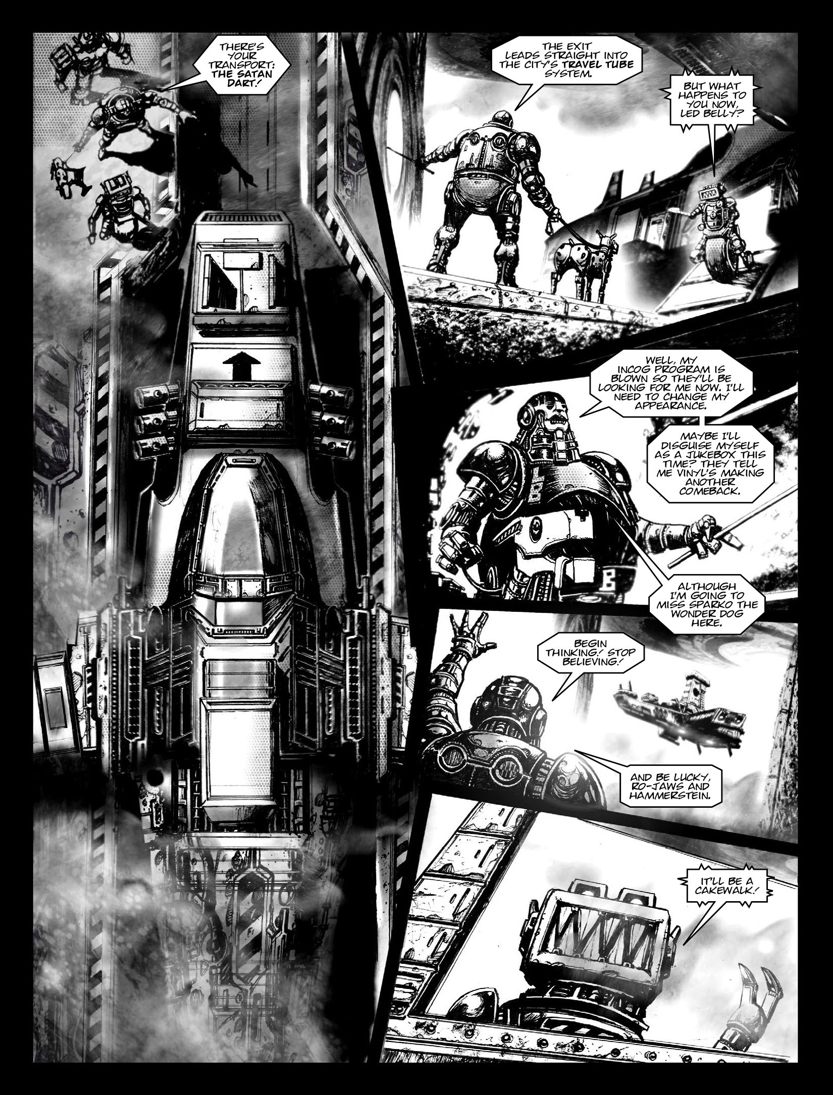 Read online 2000 AD comic -  Issue #1969 - 16