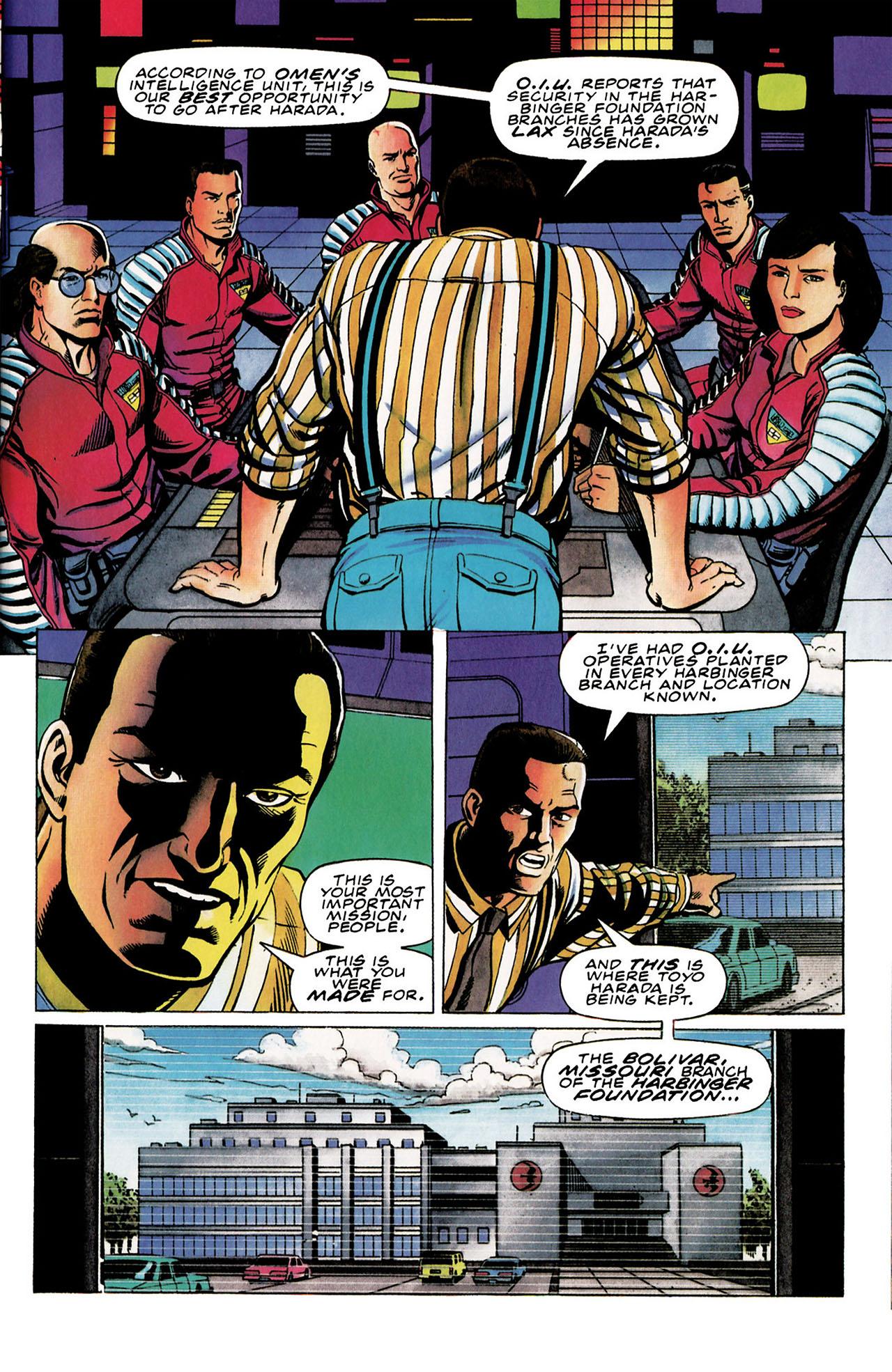 Read online Harbinger (1992) comic -  Issue #30 - 4