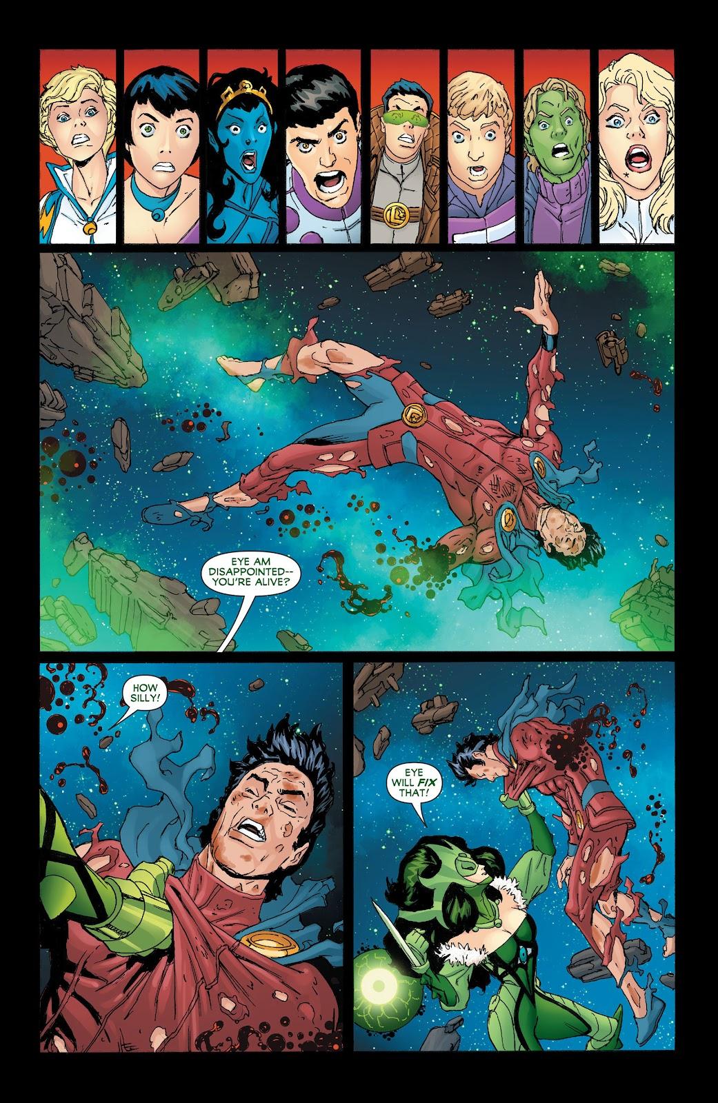 Legion of Super-Heroes (2011) Issue #19 #20 - English 19