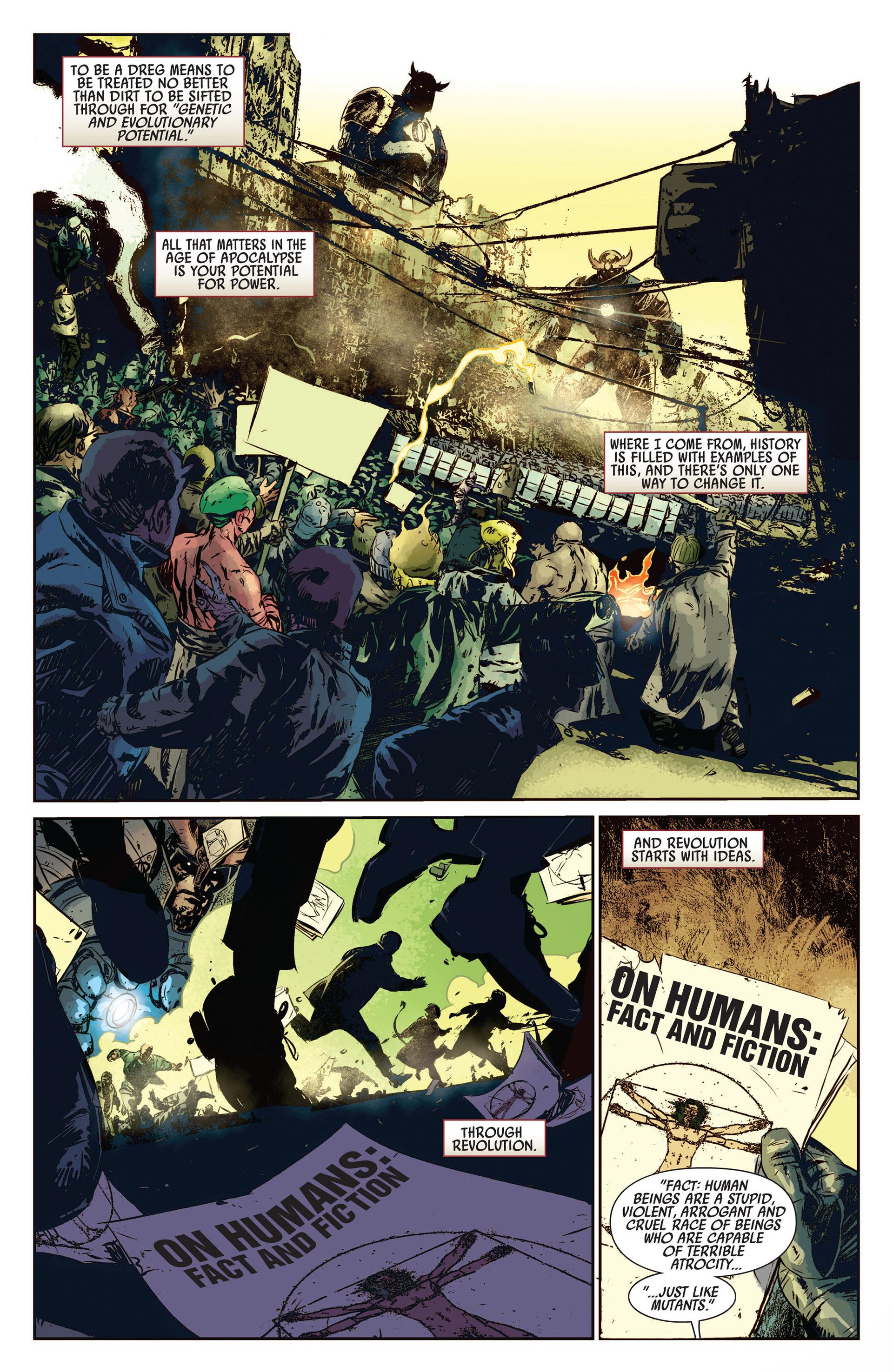 Read online Age of Apocalypse (2012) comic -  Issue #1 - 12