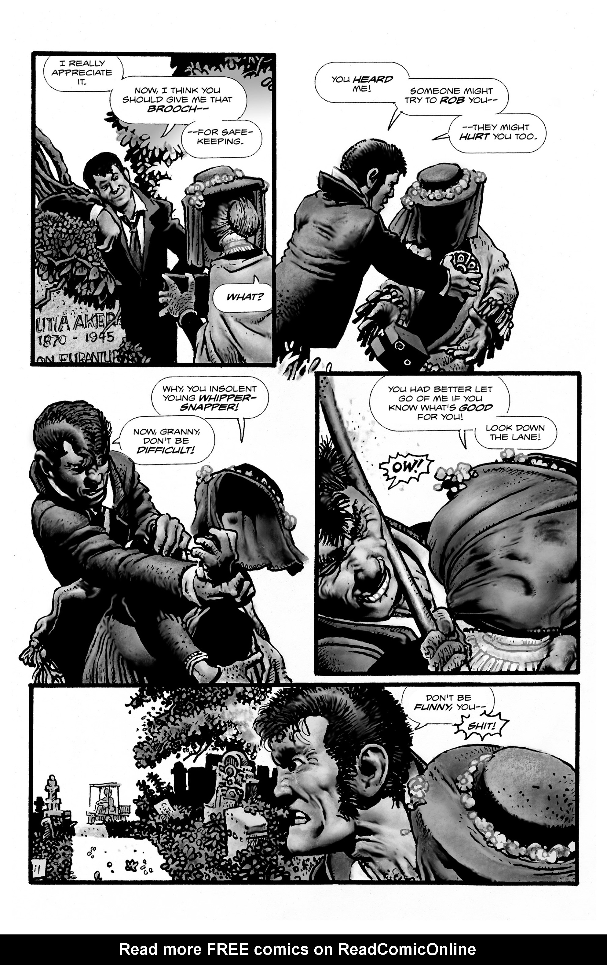 Read online Shadows on the Grave comic -  Issue #2 - 23