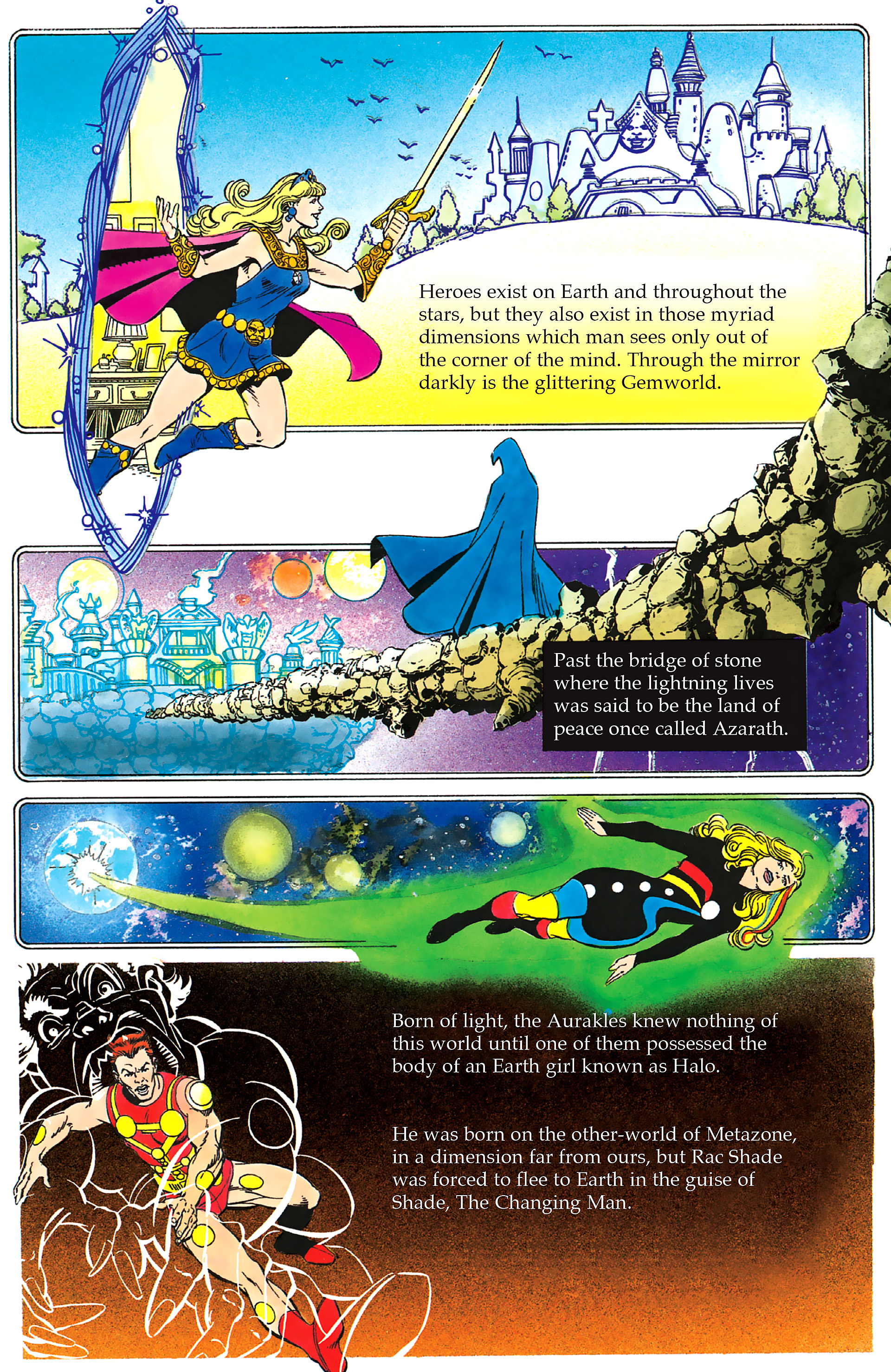 Read online History of the DC Universe comic -  Issue #2 - 30