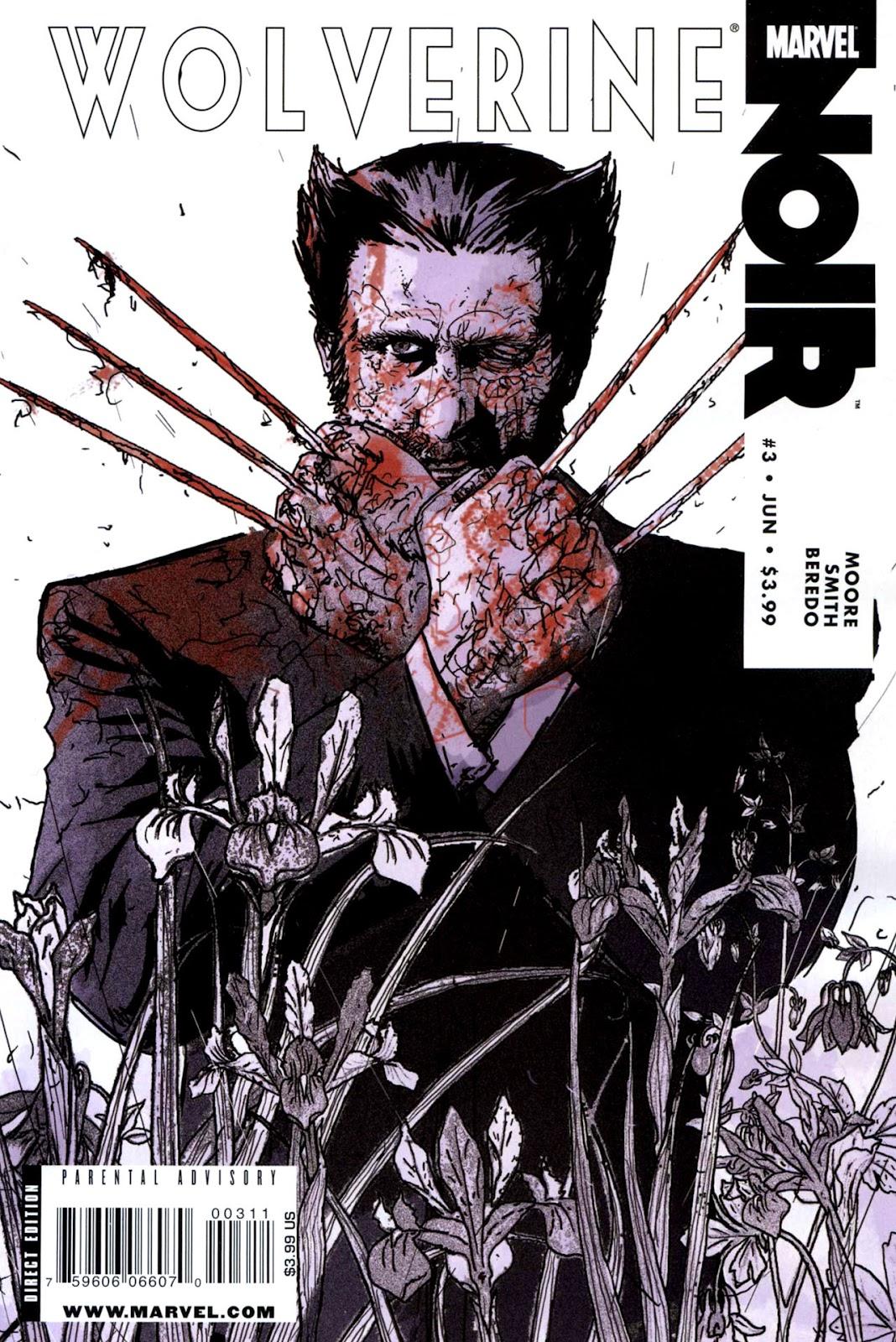 Wolverine Noir issue 3 - Page 1