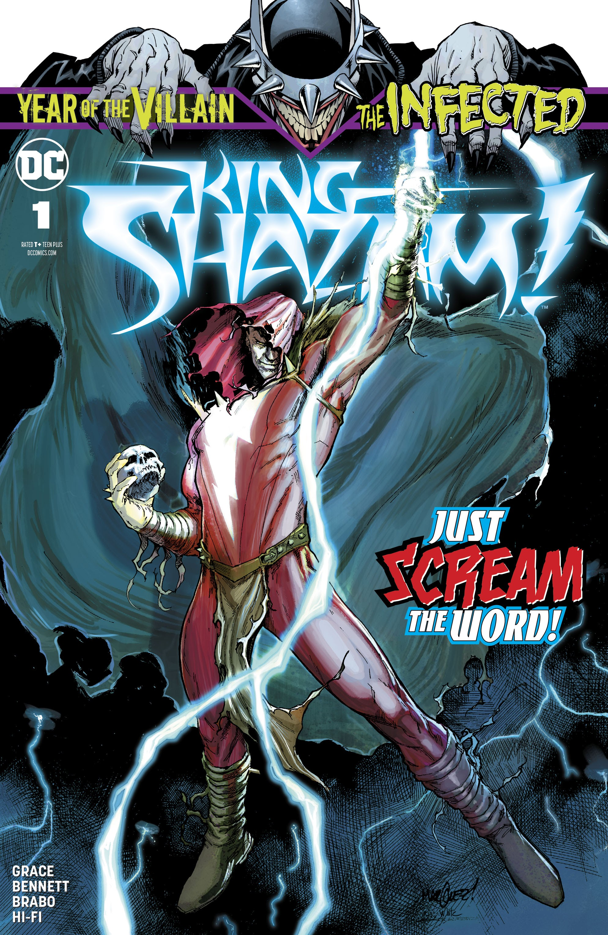 The Infected: King Shazam Full Page 1