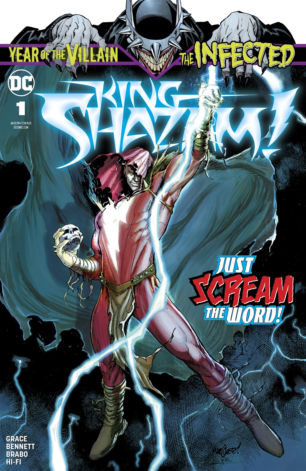 Read online The Infected: King Shazam comic -  Issue # Full - 1