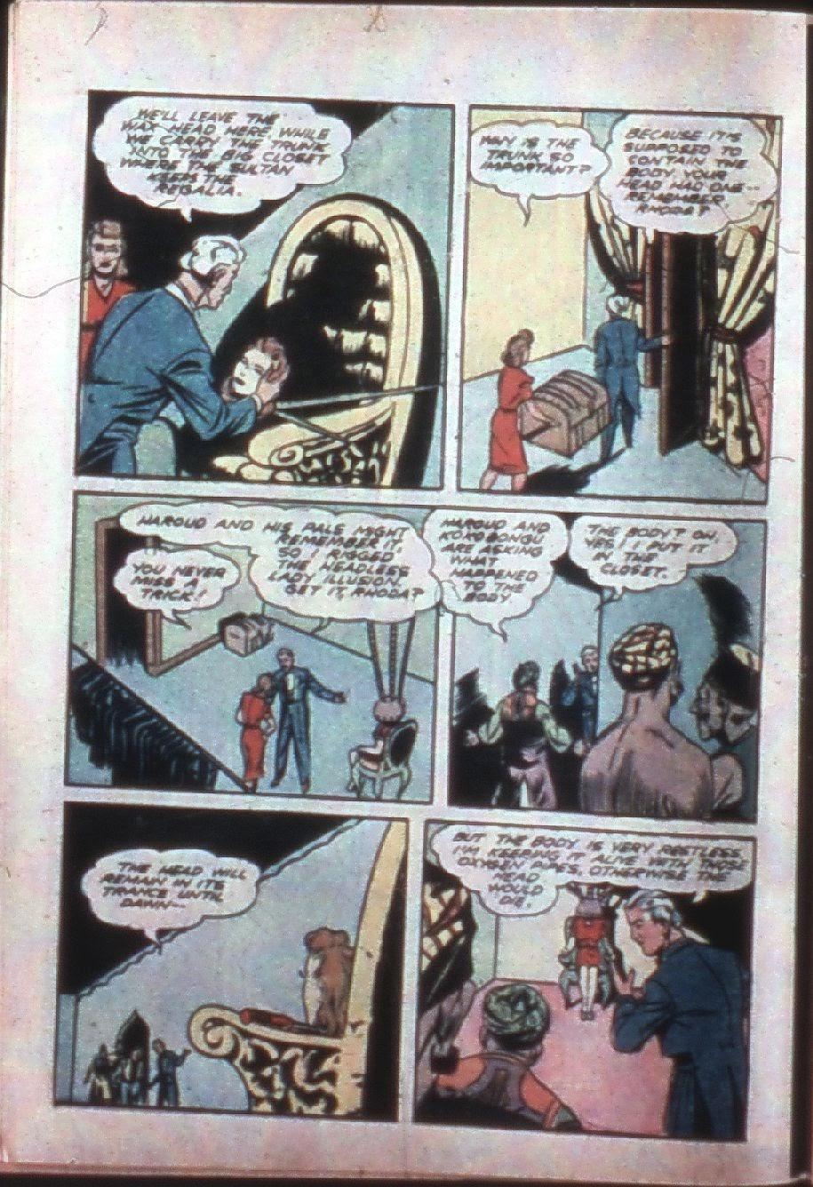 Read online Super-Magician Comics comic -  Issue #7 - 12