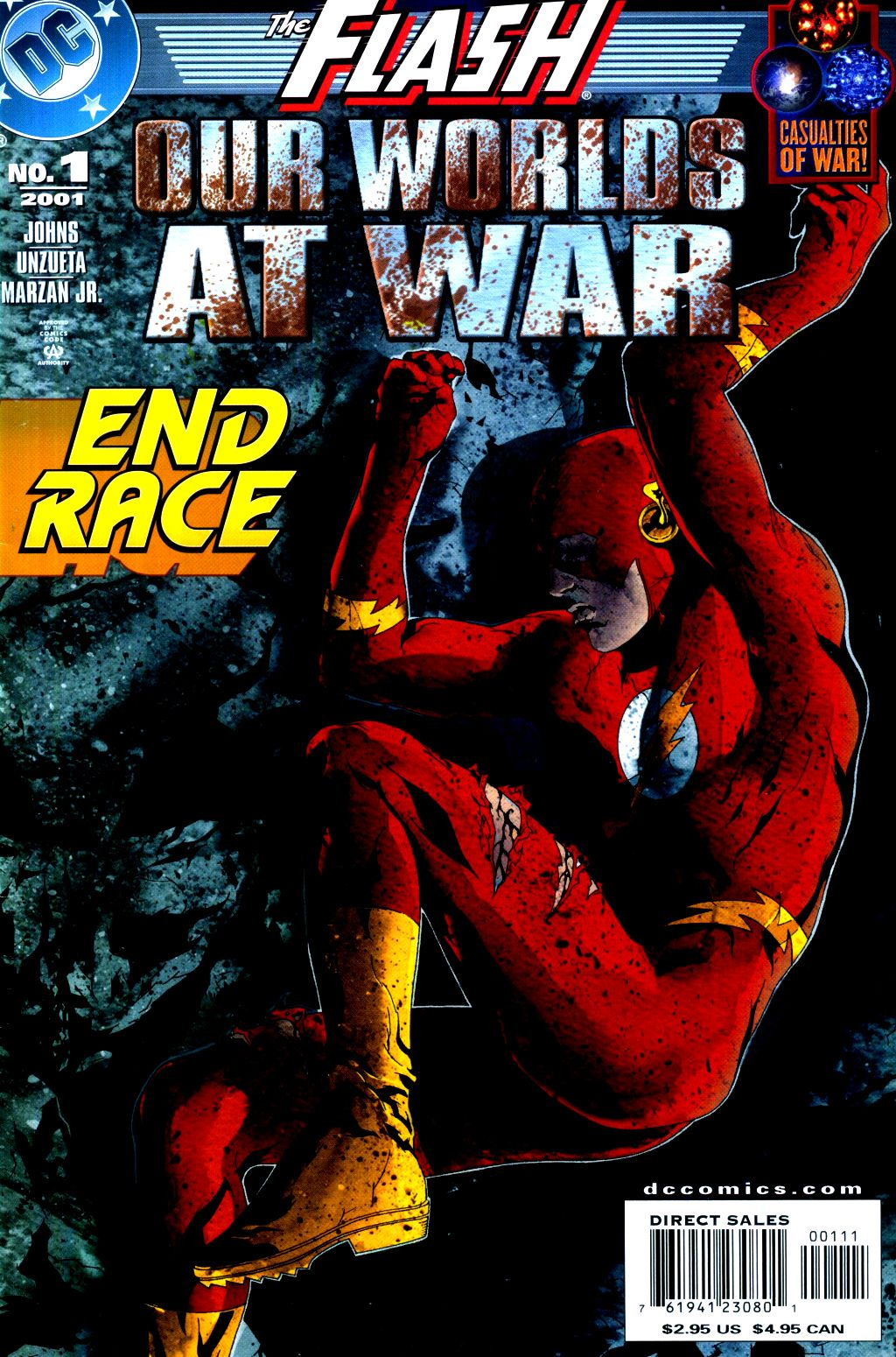 Read online The Flash: Our Worlds at War comic -  Issue # Full - 1