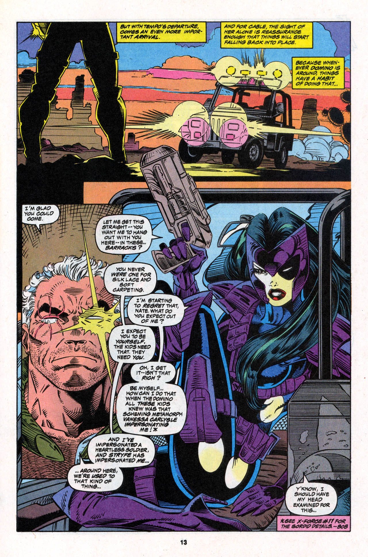 Read online X-Force (1991) comic -  Issue #30 - 14