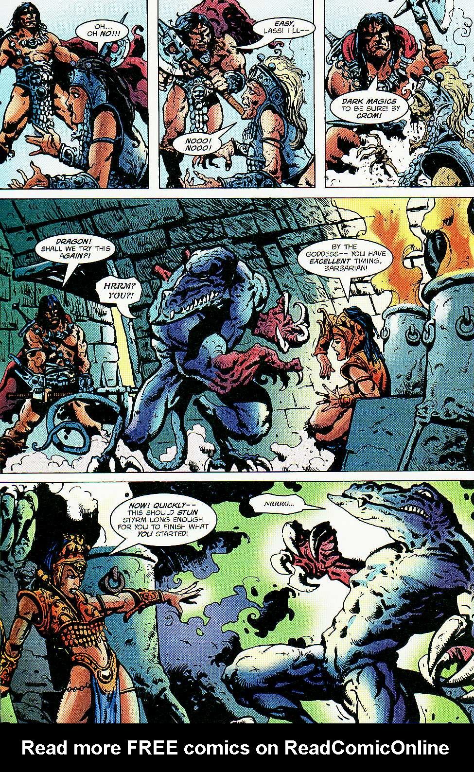 Read online Conan: Return of Styrm comic -  Issue #3 - 21