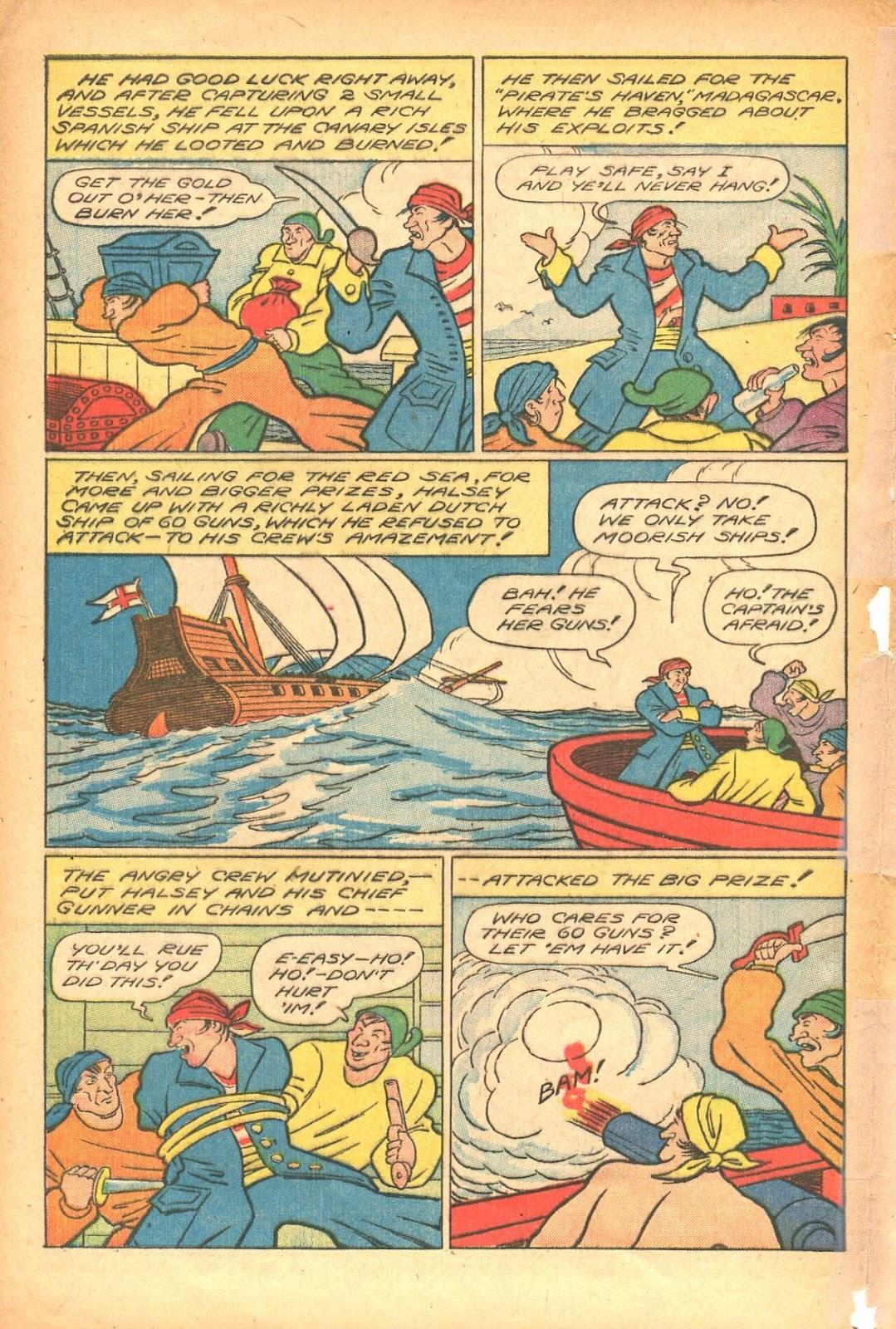 Read online Super-Magician Comics comic -  Issue #35 - 40