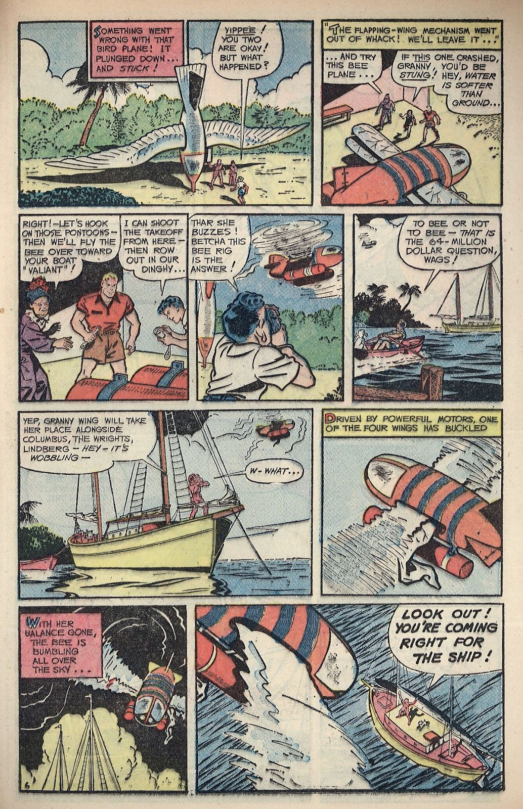 Read online Famous Funnies comic -  Issue #217 - 25